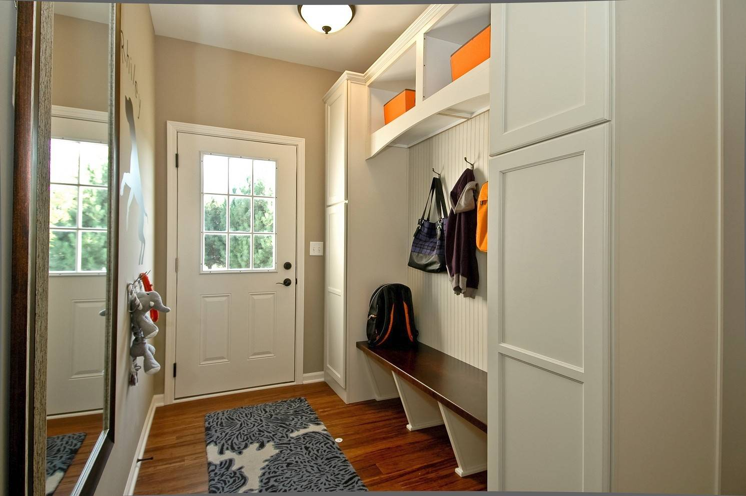 "For some time, mudrooms have been common in larger custom homes. However, now many suburban homebuilders offer the ""owners' entry."""