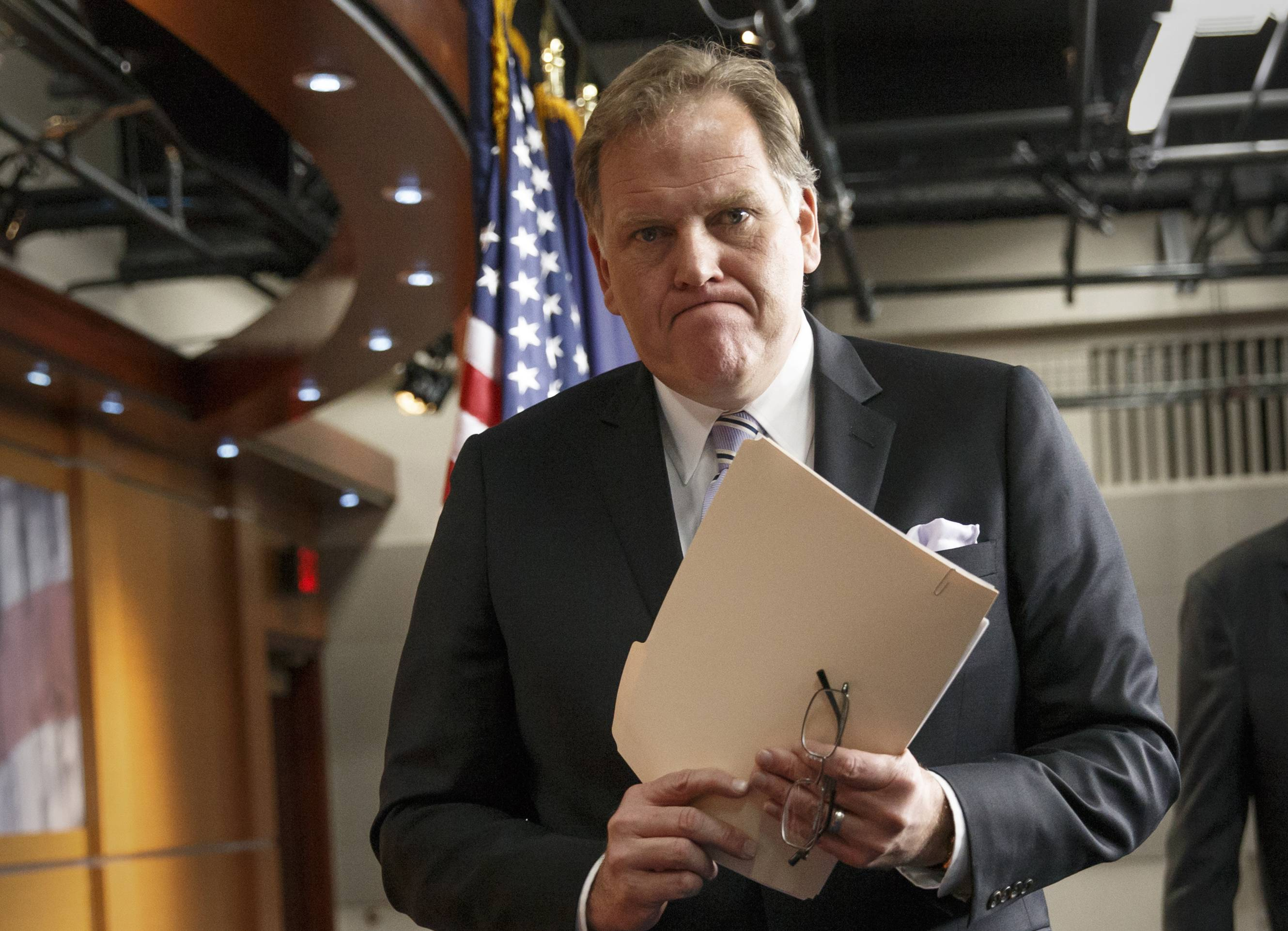 House Intelligence Committee Chairman Mike Rogers, a Michigan Republican, prodded President Barack Obama on Sunday to take decisive action against the growing threats from Islamic State militants on U.S. soil.