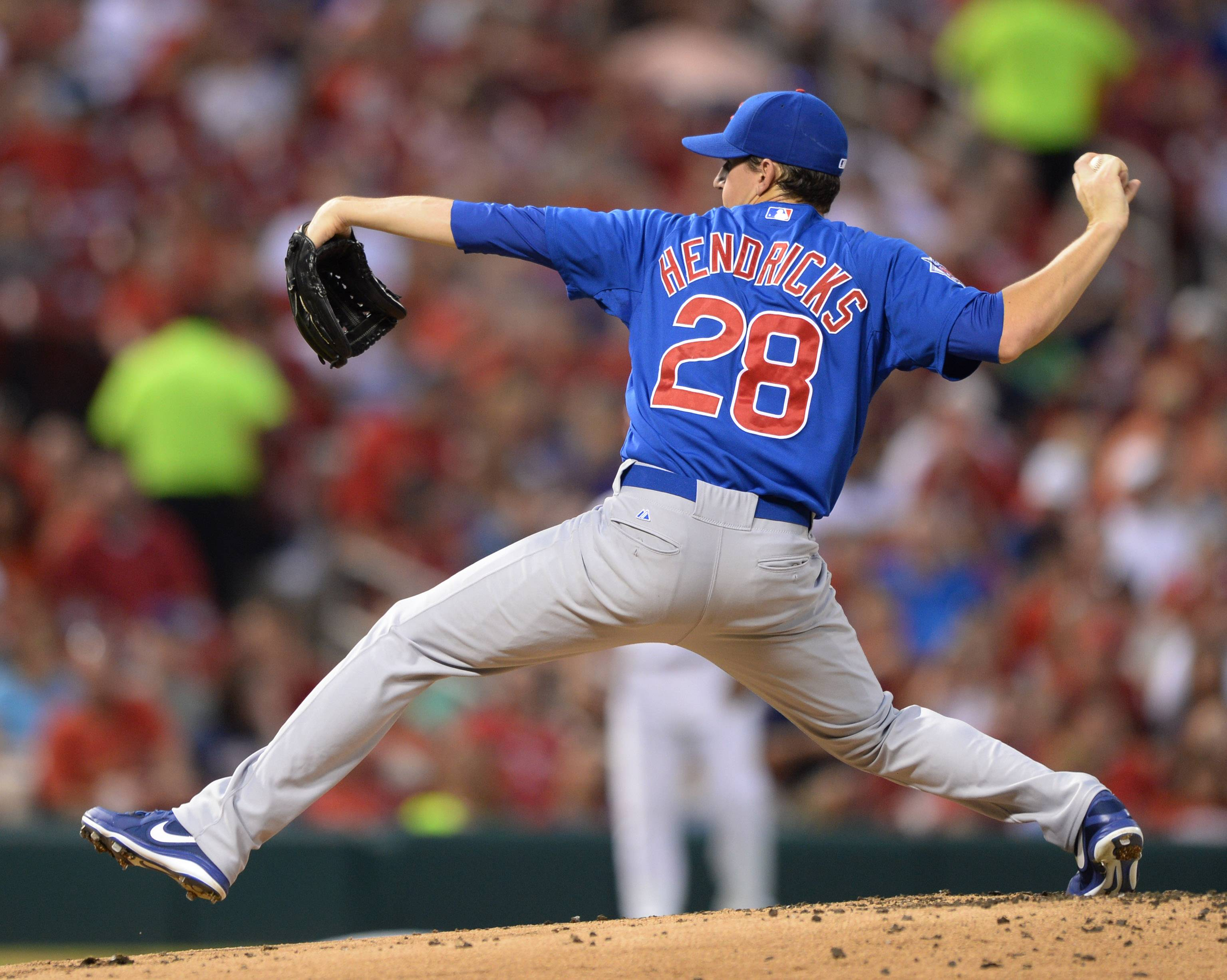 Cubs starting pitcher Kyle Hendricks has a been a revelation since joining the rotation following the trade of Jeff Samardzija and Jason Hammel to Oakland.