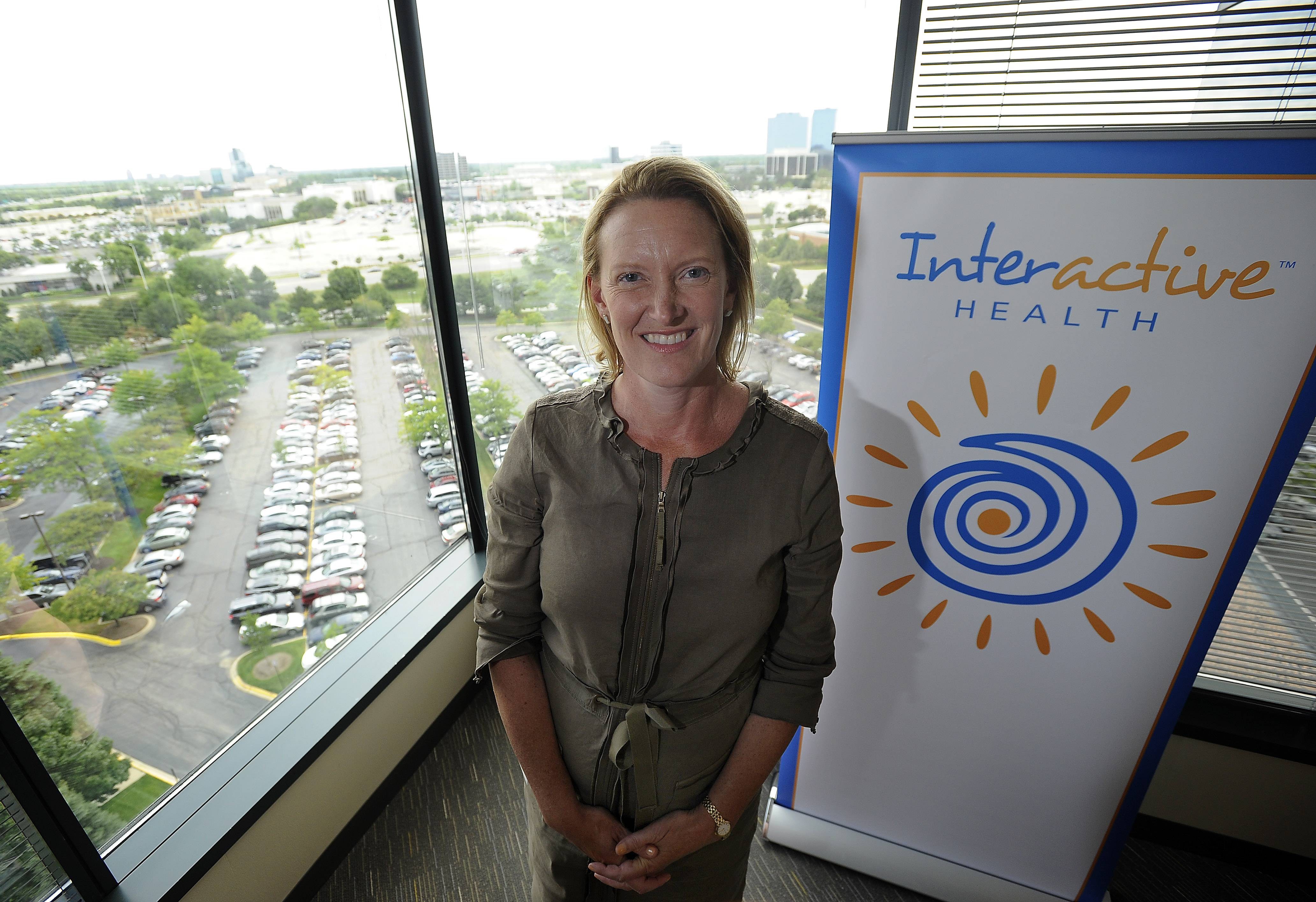 Cathy Kenworthy, president and CEO of Interactive Health, operates in Schaumburg.