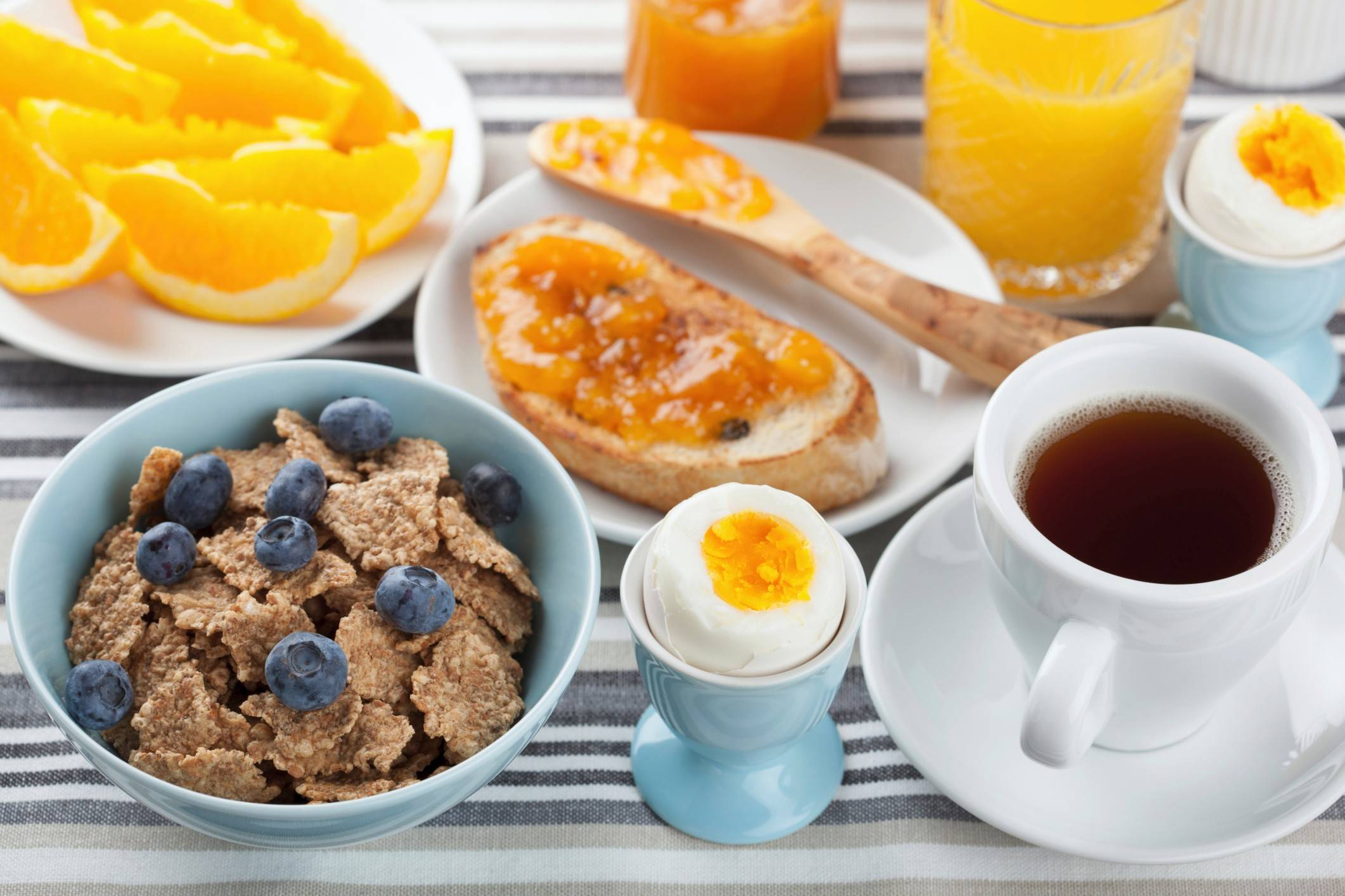 Is breakfast really the most important meal of the day? A new study says maybe not.