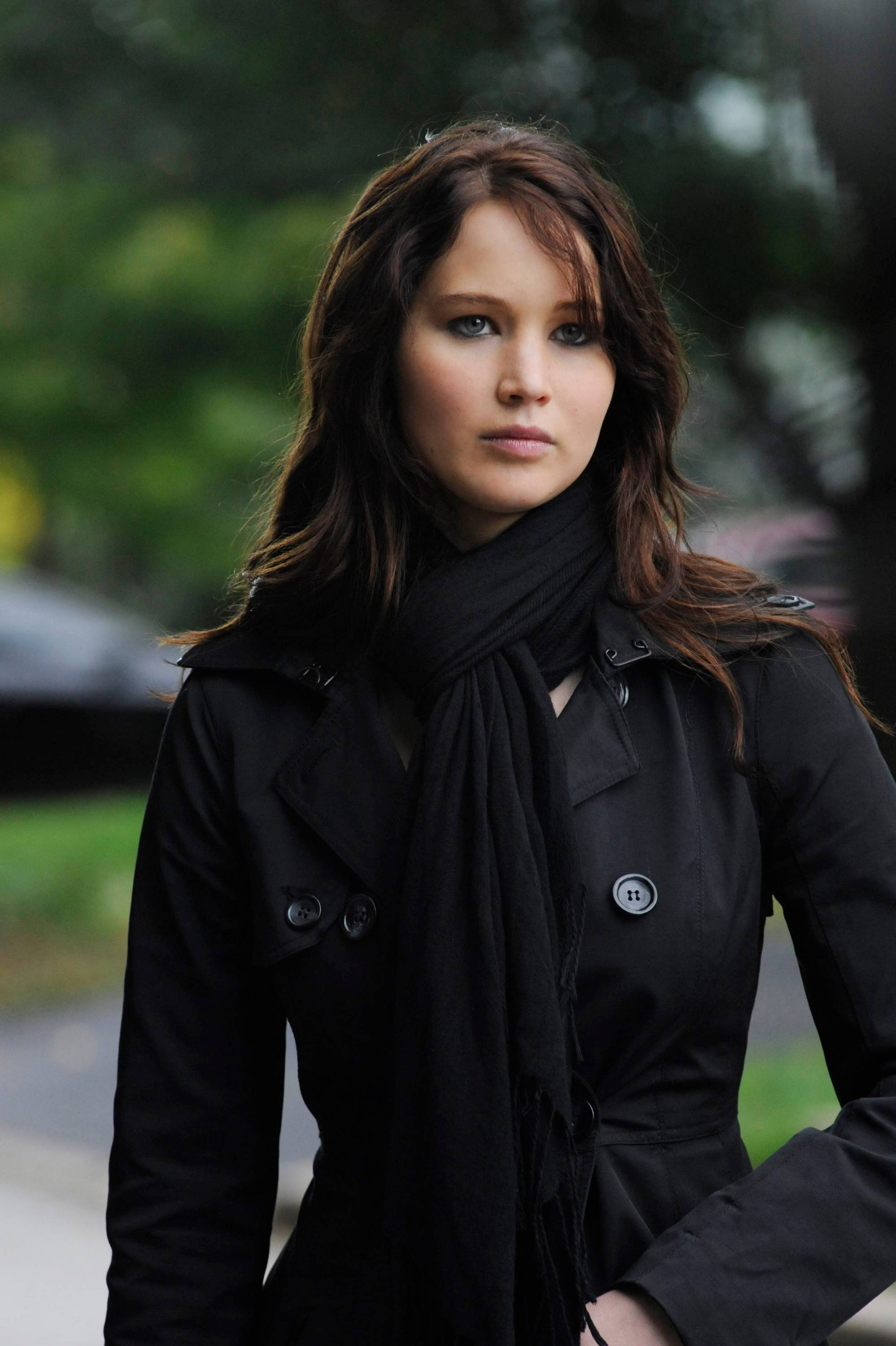 "Jennifer Lawrence, seen here in the film ""Silver Linings Playbook,"" was one of many actresses victimized this past weekend by an apparent hacker who posted private images of her to the Internet."