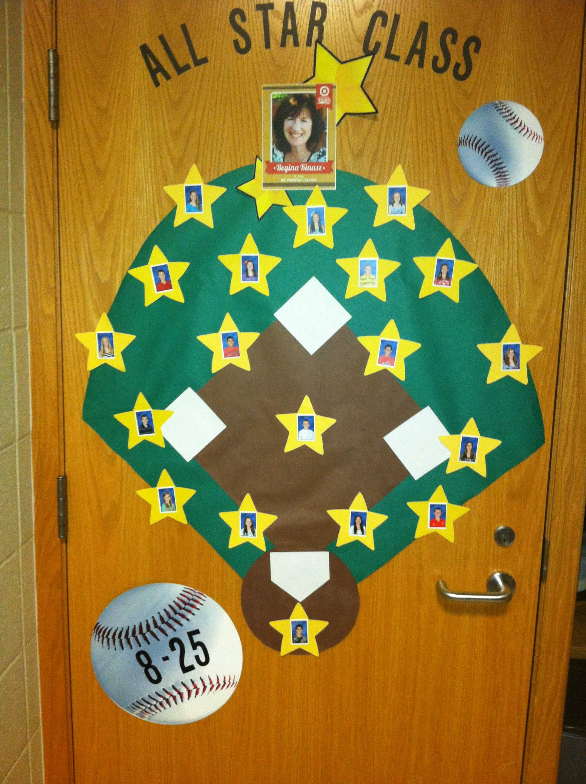 For the start of the new school year, Regina Kinasz made all her homeroom students stars. Kinasz was named one of 30 All-Star teachers at the Major League Baseball All-Star game.
