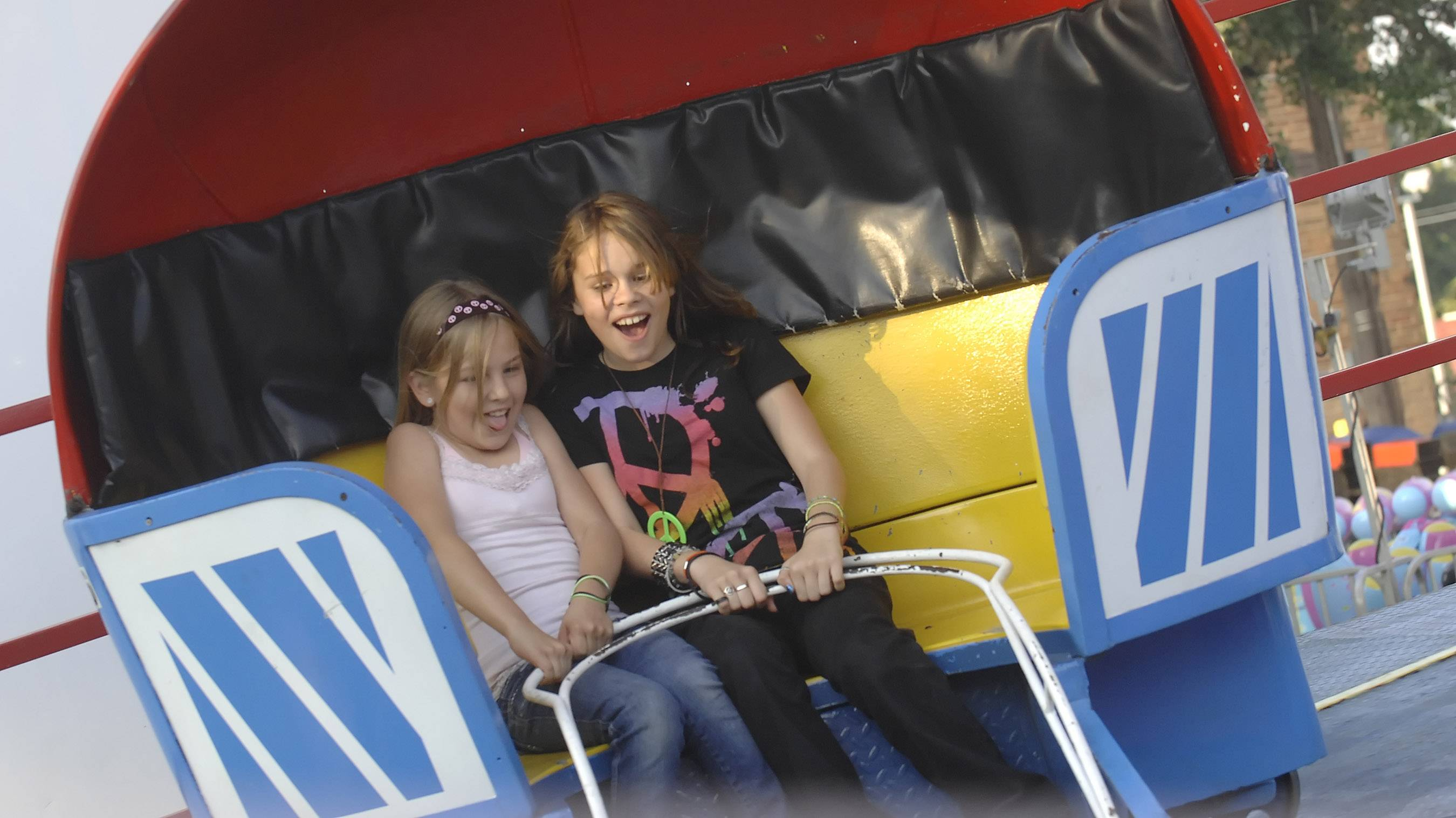 Carnival rides once again will play a big role in Villa Park's annual Oktoberfest celebration that opens Friday and continues through Sunday in Lions Park.