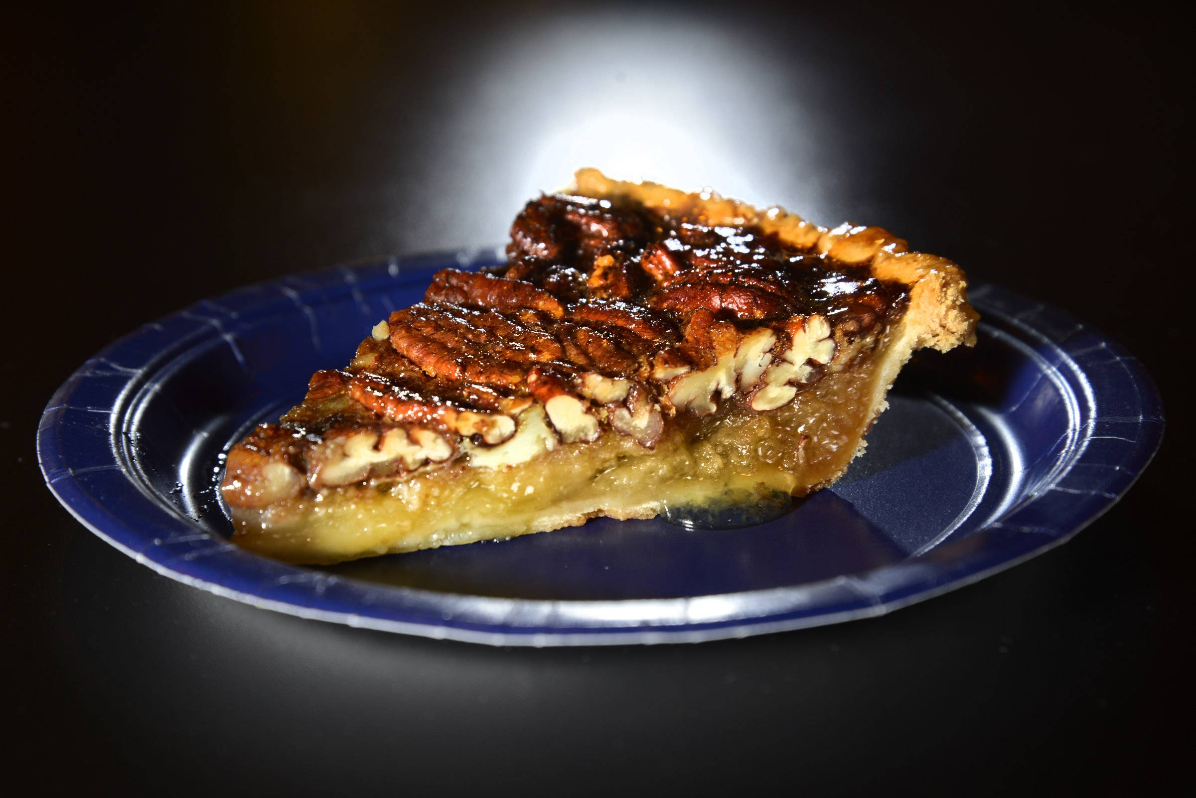There are several items on the dessert menu at Rock 'n Ribs BBQ, but pecan pie deserves the spotlight.