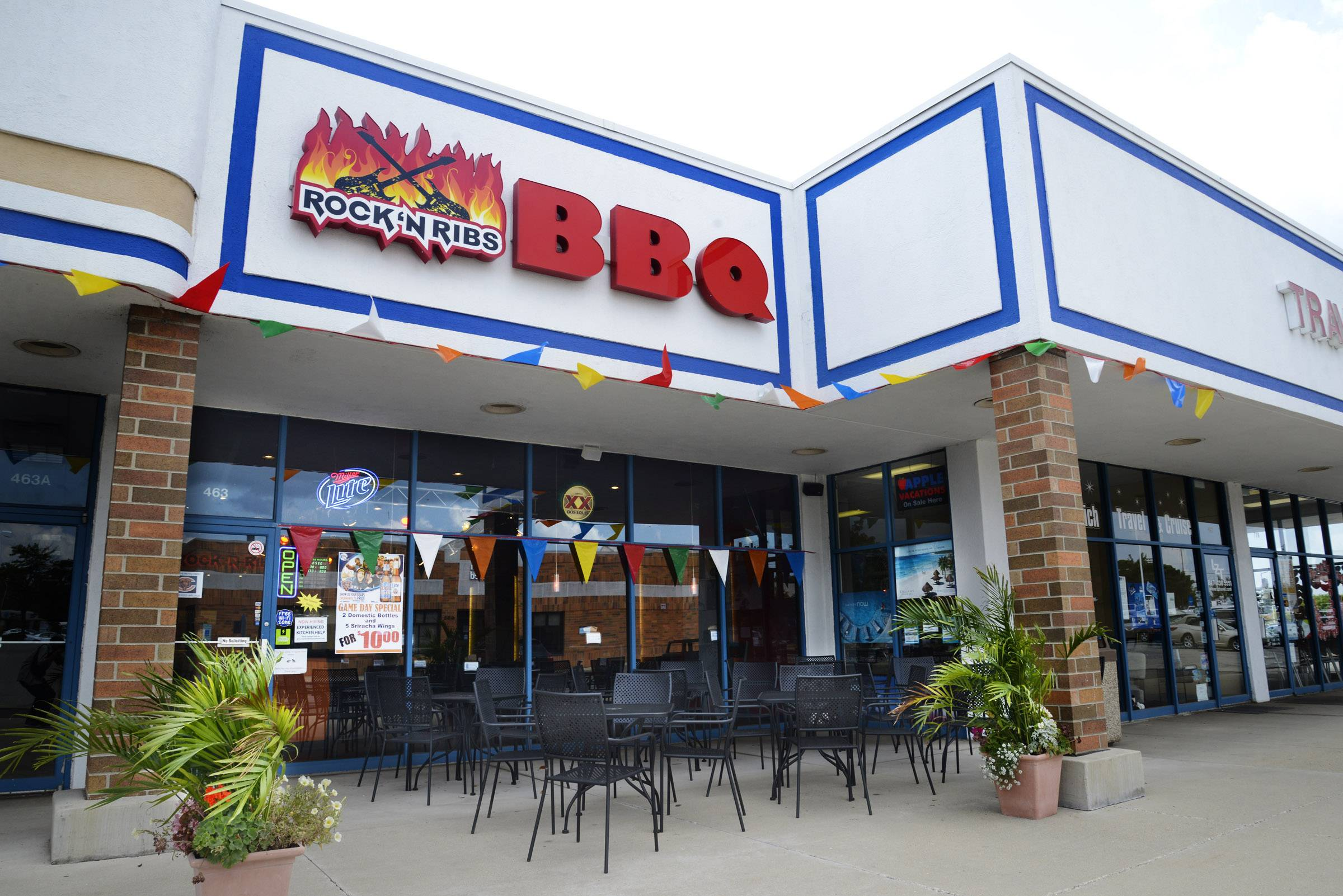 Rock 'n Ribs opened on South Rand Road in Lake Zurich earlier this year.
