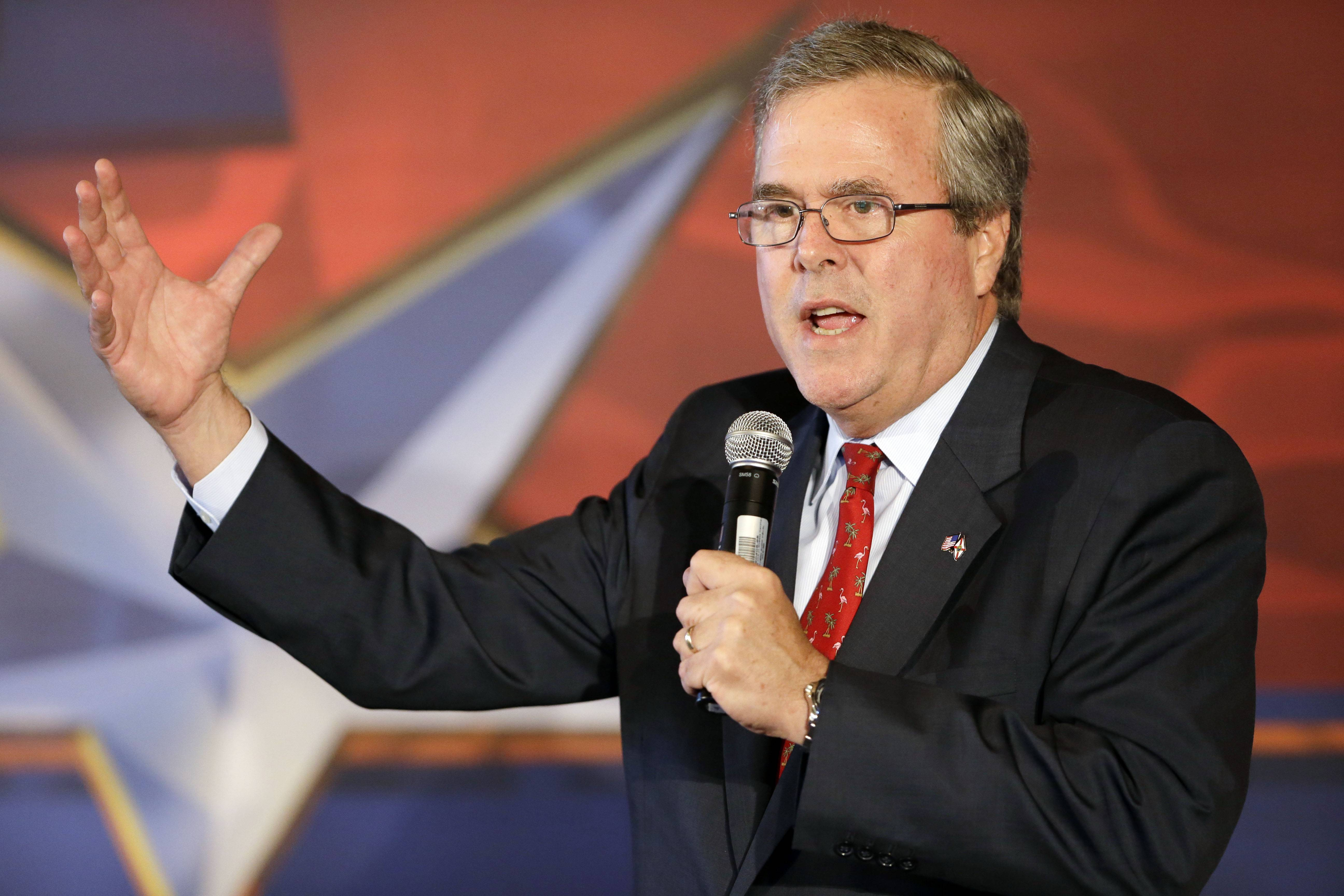 Florida Gov. Jeb Bush