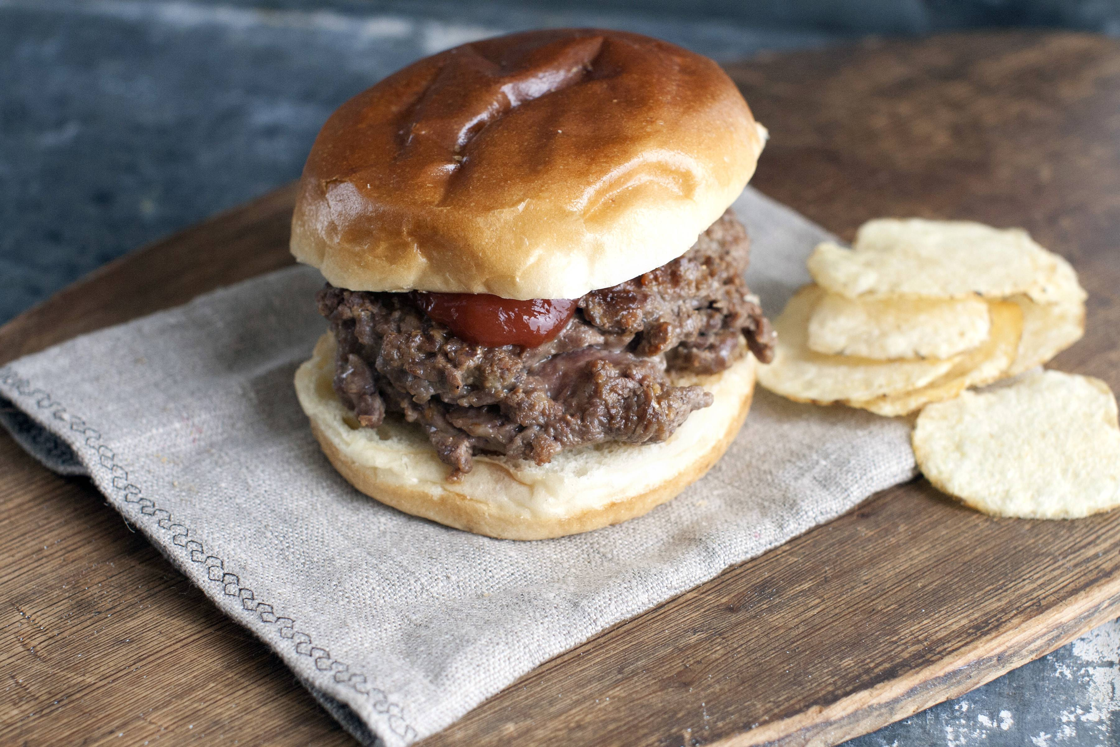 Super Savory Chop-Your-Own Burgers
