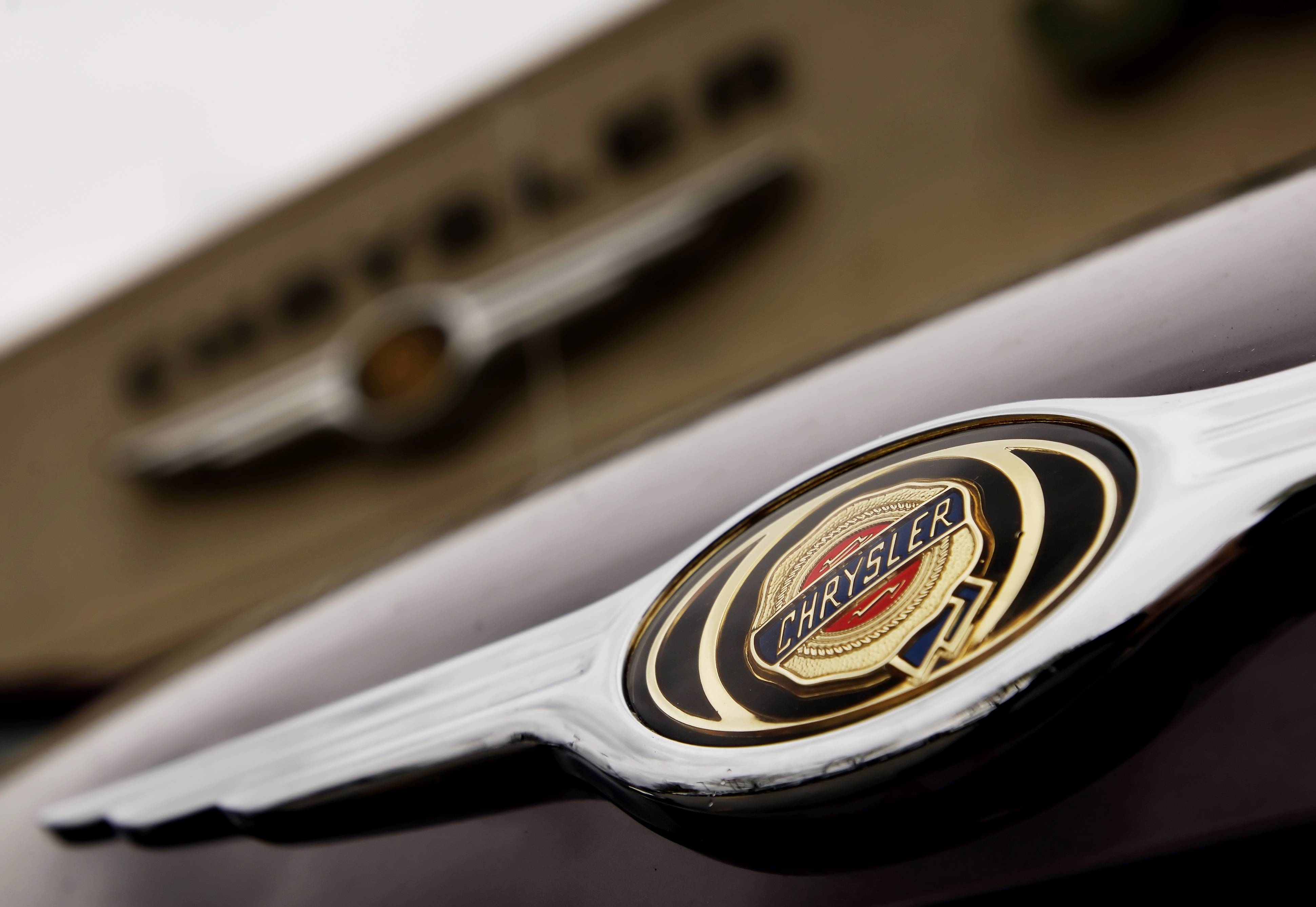 Chrysler says its U.S. sales last month rose 20 percent over a year ago for its best August in 12 years.