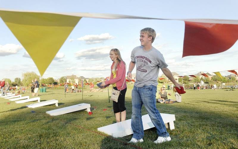 A bags tournament is one of the attractions at the fourth annual United  Fall Fest from