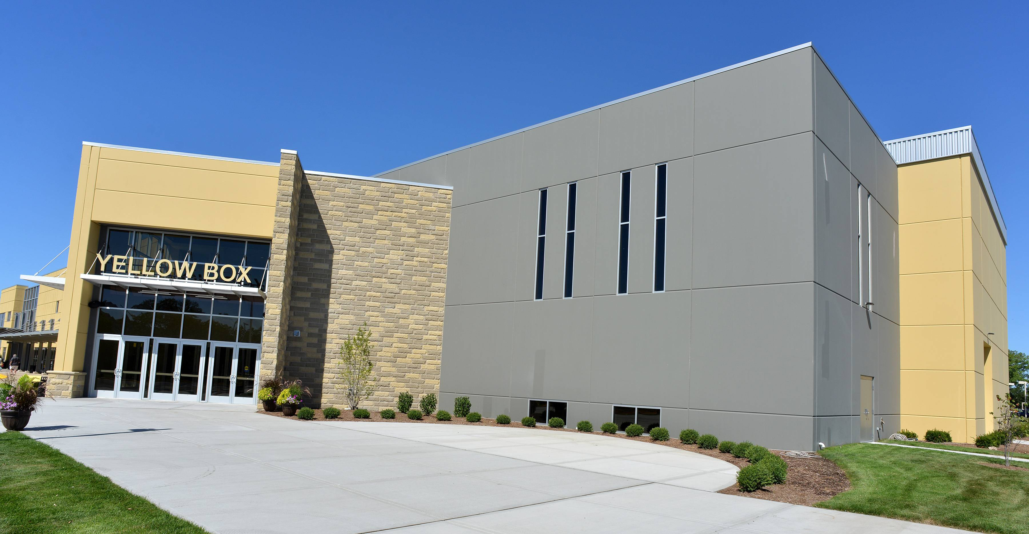 The Yellow Box Community Christian Church in Naperville is offering its new 1,200-seat auditorium and other spaces in its $8 million, 18,000-square-foot addition for use by community groups, Campus Pastor Shawn Williams said.