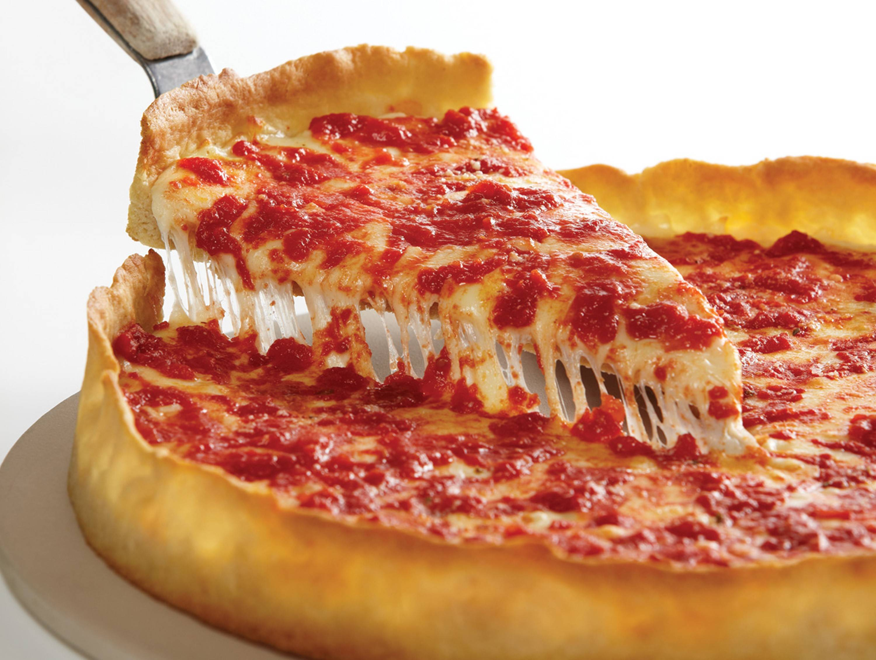 An East Coast ranking of the 101 Best Pizzas in America wants you to believe that New Haven, Conn., has five places that serve up better pizza than this delectable deep-dish offering from suburban favorite Lou Malnati's.