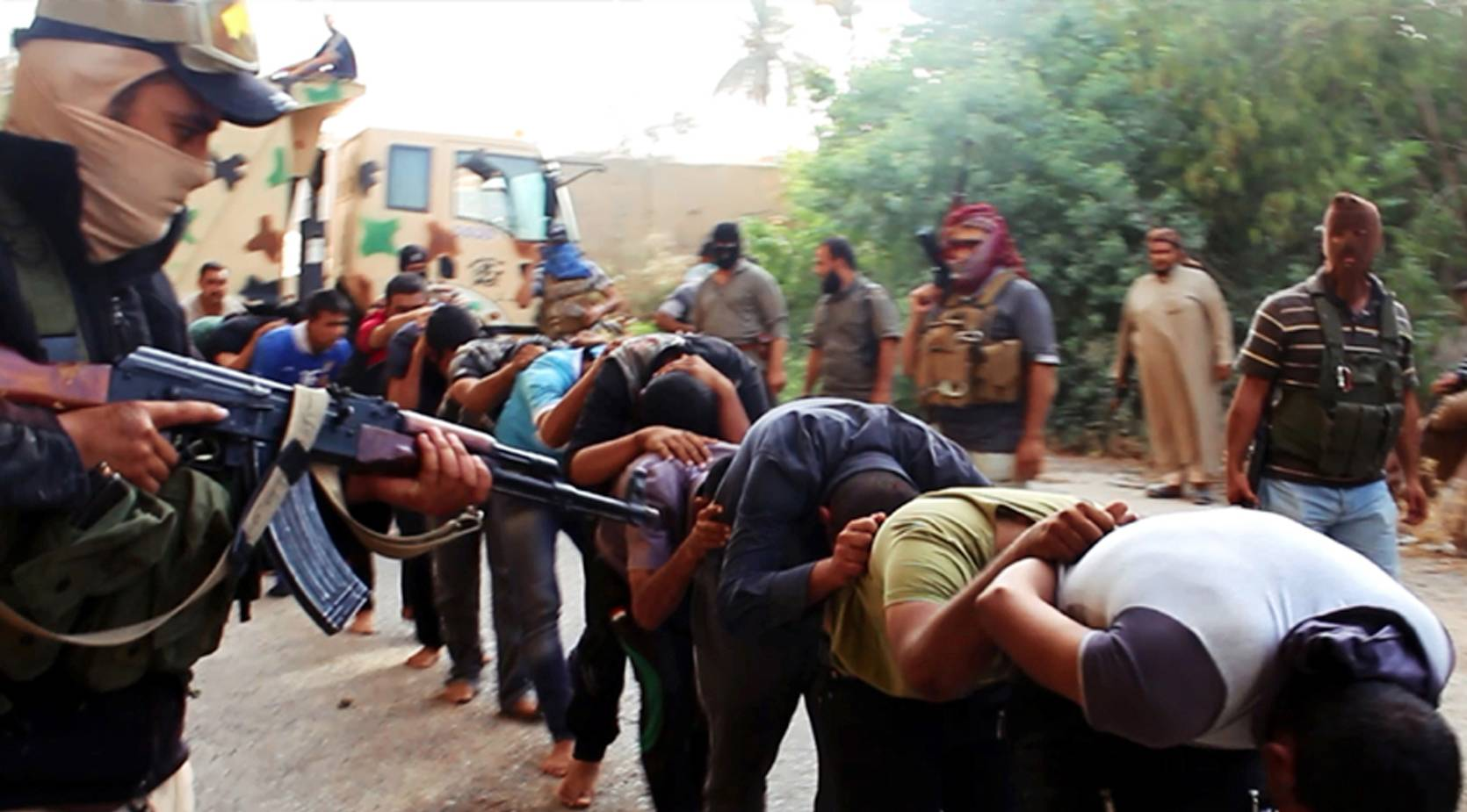 Human Rights Watch, a leading international watchdog, said Wednesday, Sept 3, 2014, new evidence indicates the Islamic State fighters killed between 560 and 770 men captured at Camp Speicher, near the city of Tikrit -- a figure several times higher than what was initially reported.