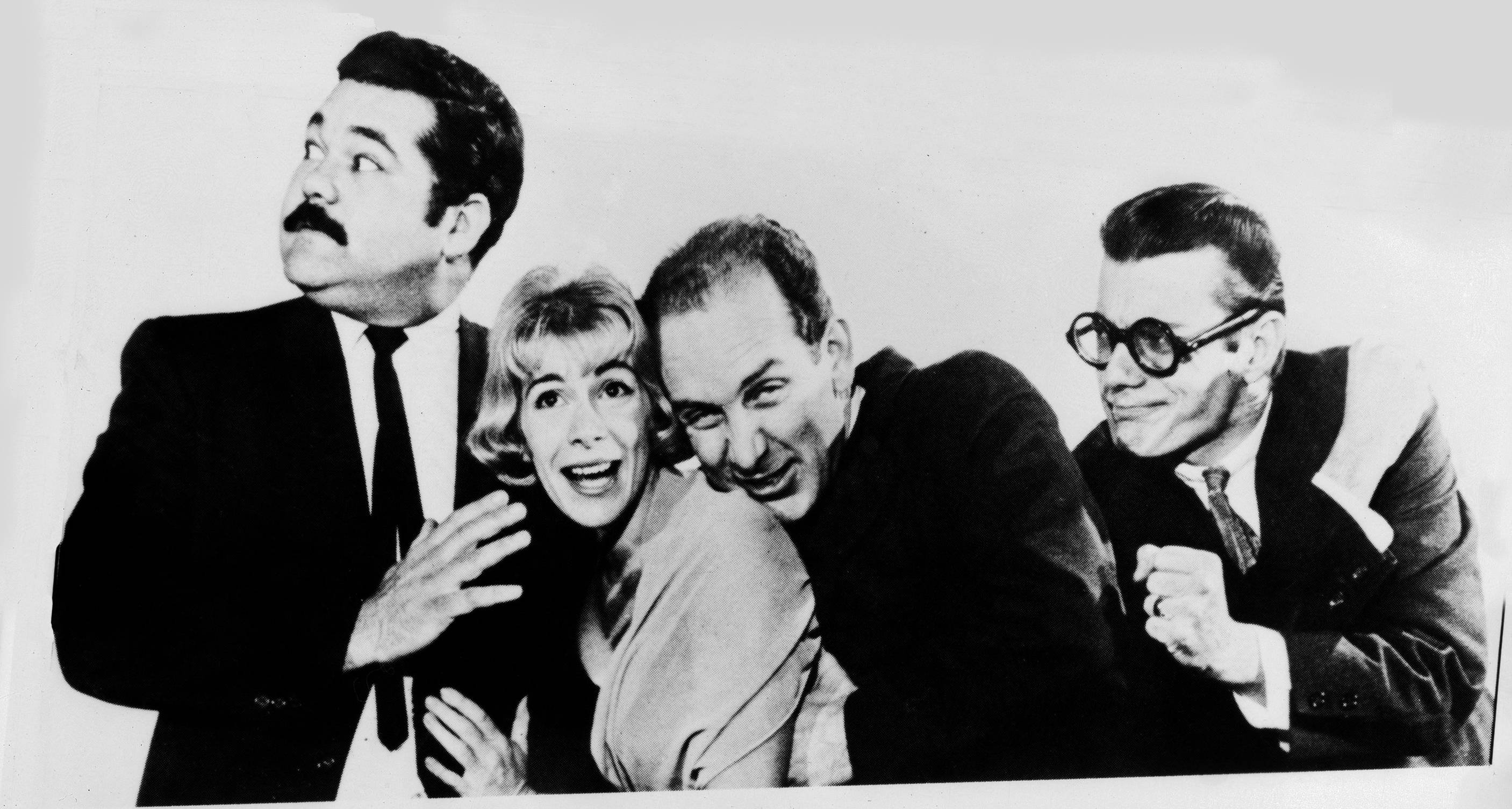 Joan Rivers, second from left, in 1961 with her Second City troop.