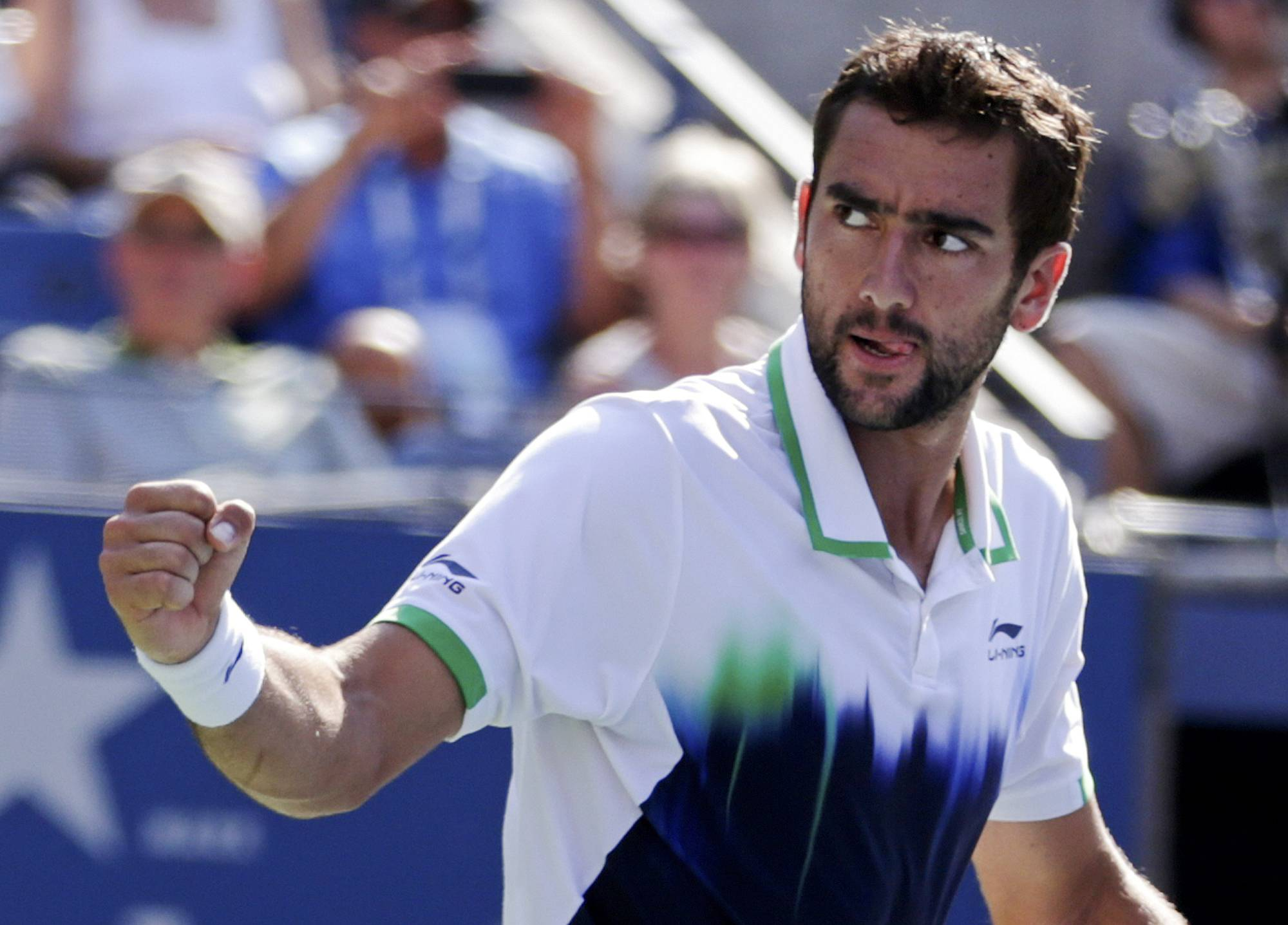 Marin Cilic reached his first Grand Slam semifinal in more than four years, upsetting sixth-seeded Tomas Berdych in straight sets at the U.S. Open. The 14th-seeded Croat won 6-2, 6-4, 7-6 (4) on Thursday. Cilic missed last year's U.S. Open because of a doping suspension after testing positive for a banned stimulant. He said he ingested it unintentionally from a glucose tablet bought at a pharmacy.