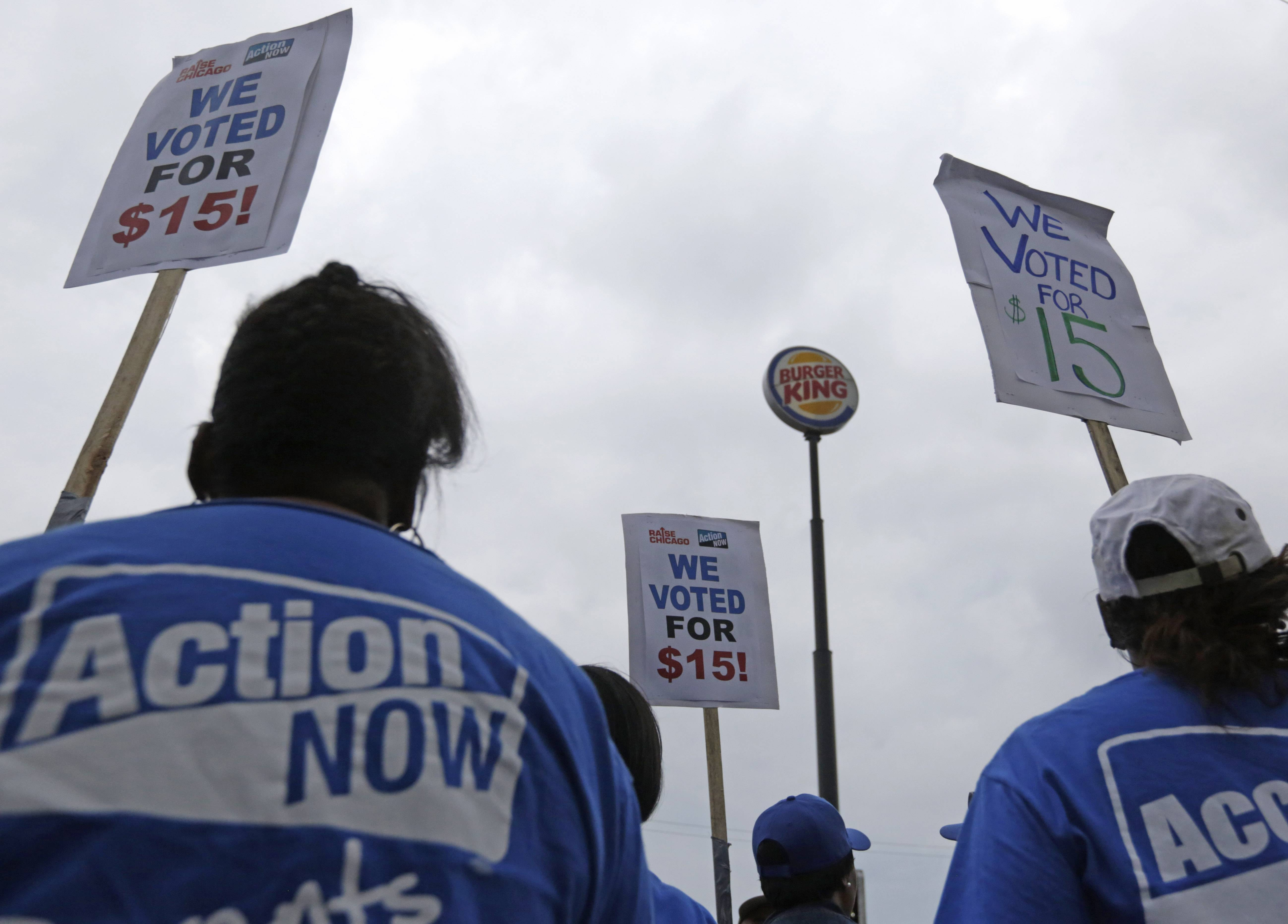"Workers involved in the ""Fight for $15"" movement are intensifying their push for higher pay and unionization."
