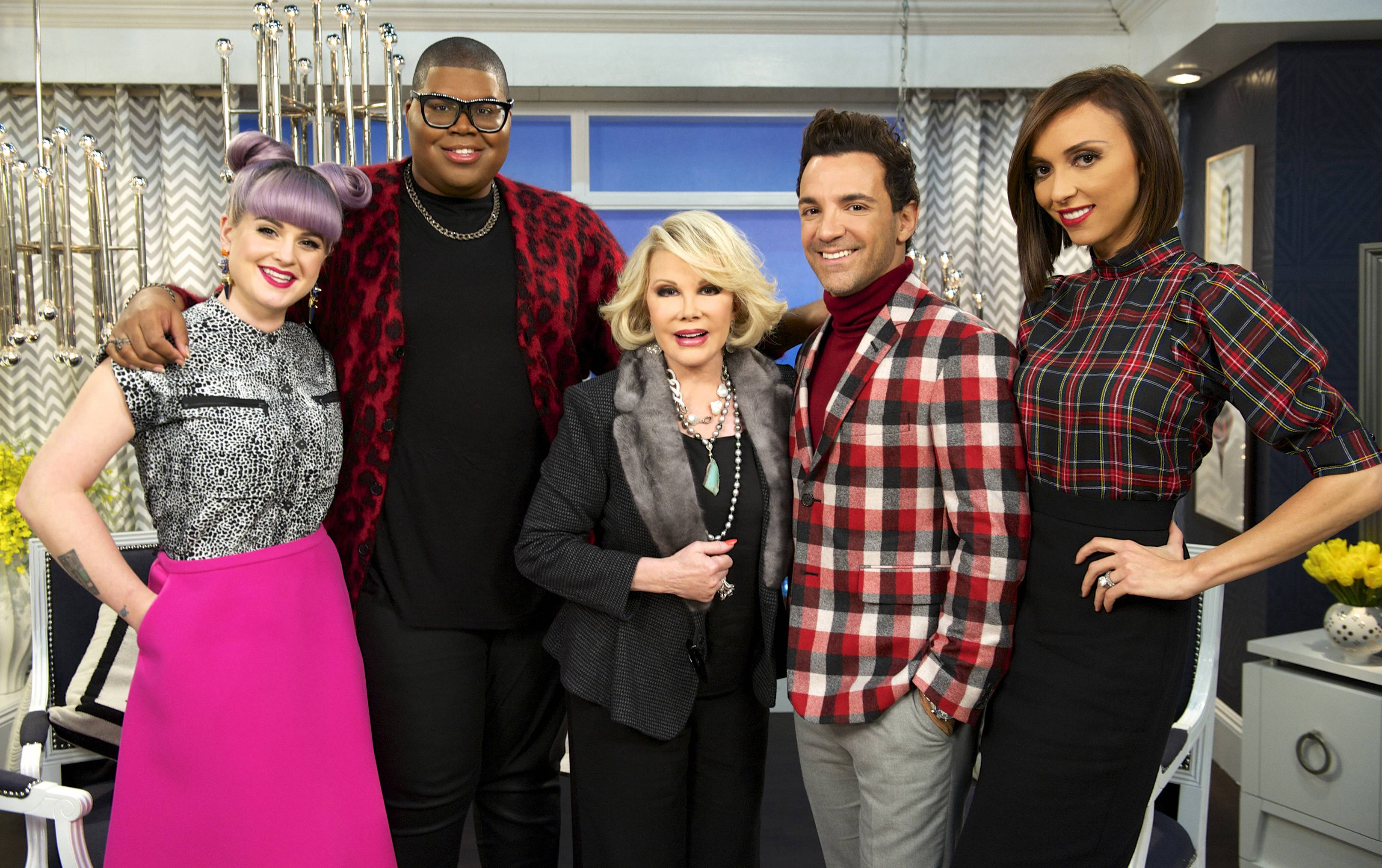"Taping for Joan Rivers' E! network show ""Fashion Police"" has been put on hold, the network confirmed Thursday."