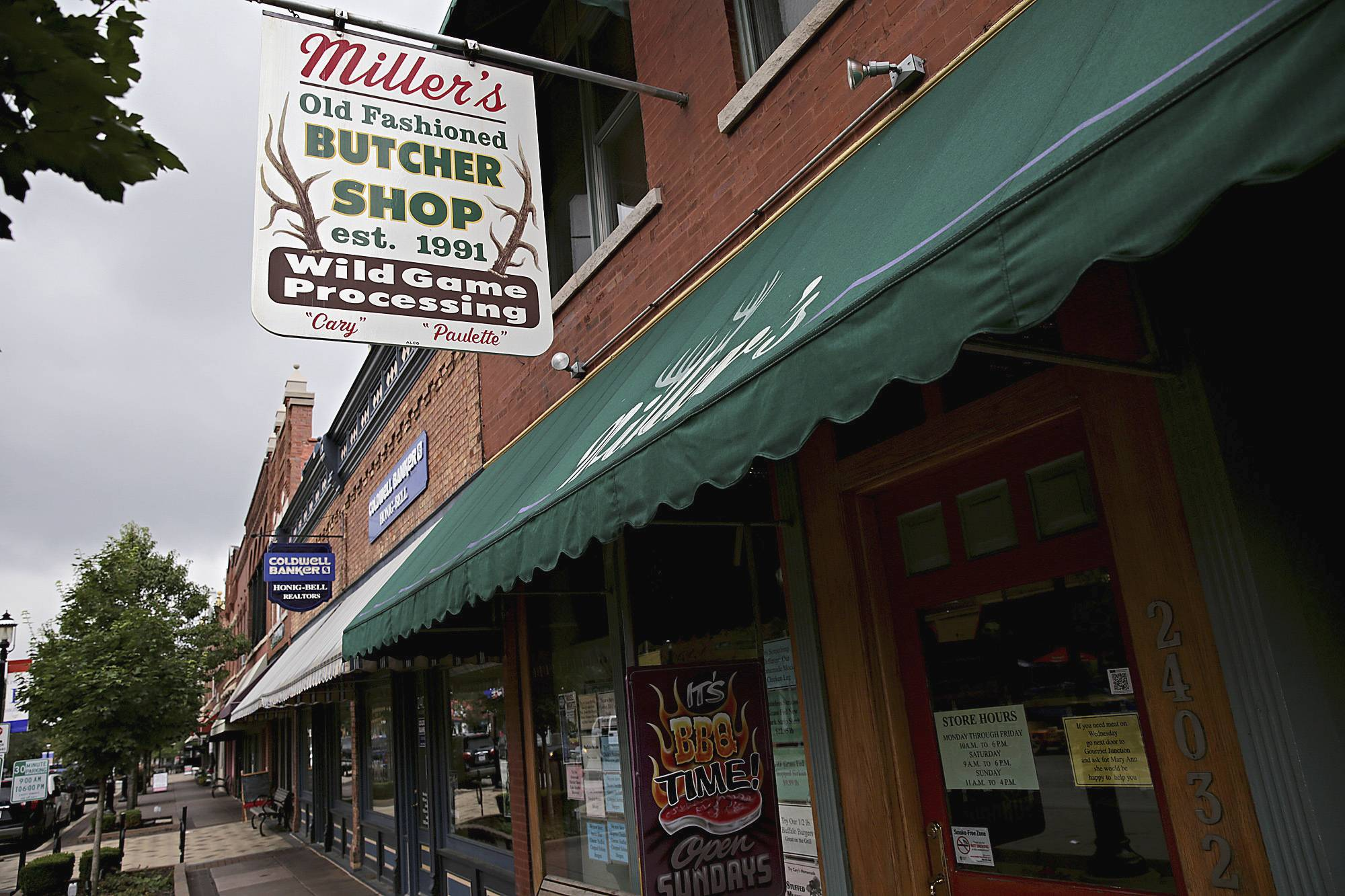 Miller's Old Fashioned Butcher Shop in downtown Plainfield is one of the many downtown Plainfield businesses that are crafty, unique and complement each other.
