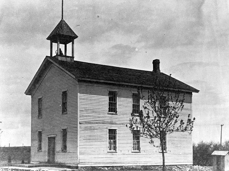 This is how Ela Township's hall in downtown Lake Zurich looked in 1912. Still owned by the township, a rededication of the building and an open house is scheduled for 3 p.m. Saturday, Sept. 13, at 95 E. Main St.