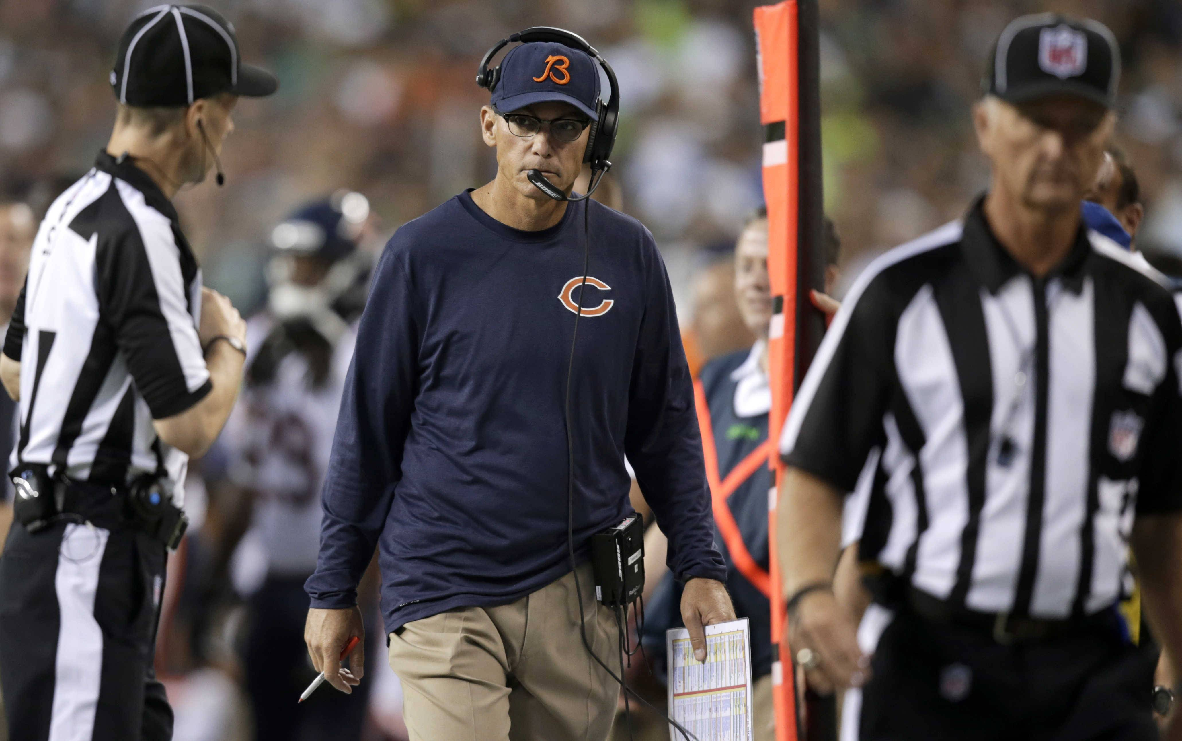 Mike North isn't convinced yet that Marc Trestman can make the tough decisions required of a head coach in the NFL.
