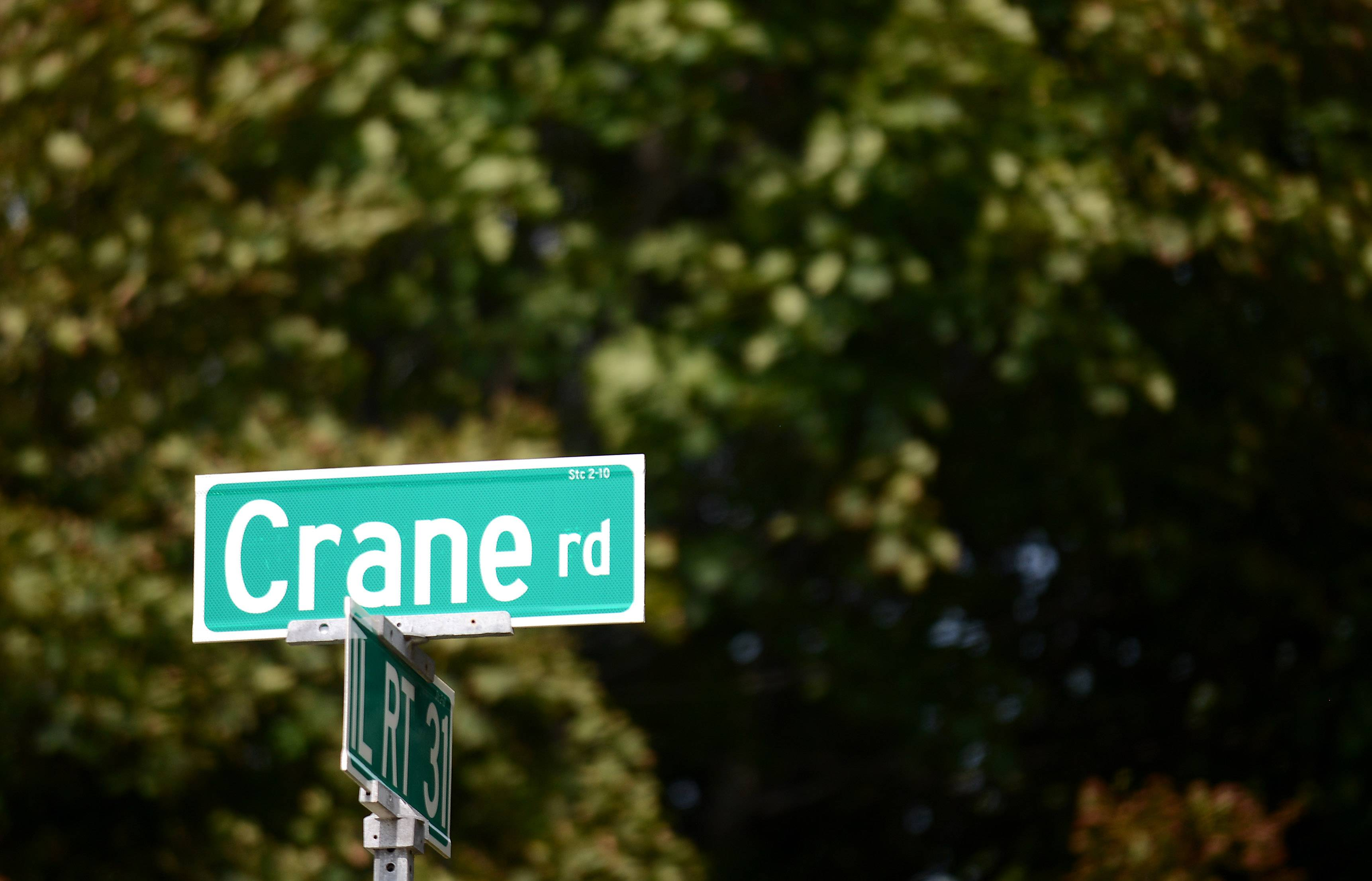 Crane Road in St. Charles was named after Herbert Crane, an heir to the Crane Plumbing Co. of Chicago. He owned property on the west side of Route 31 and south of what is now Crane Road.