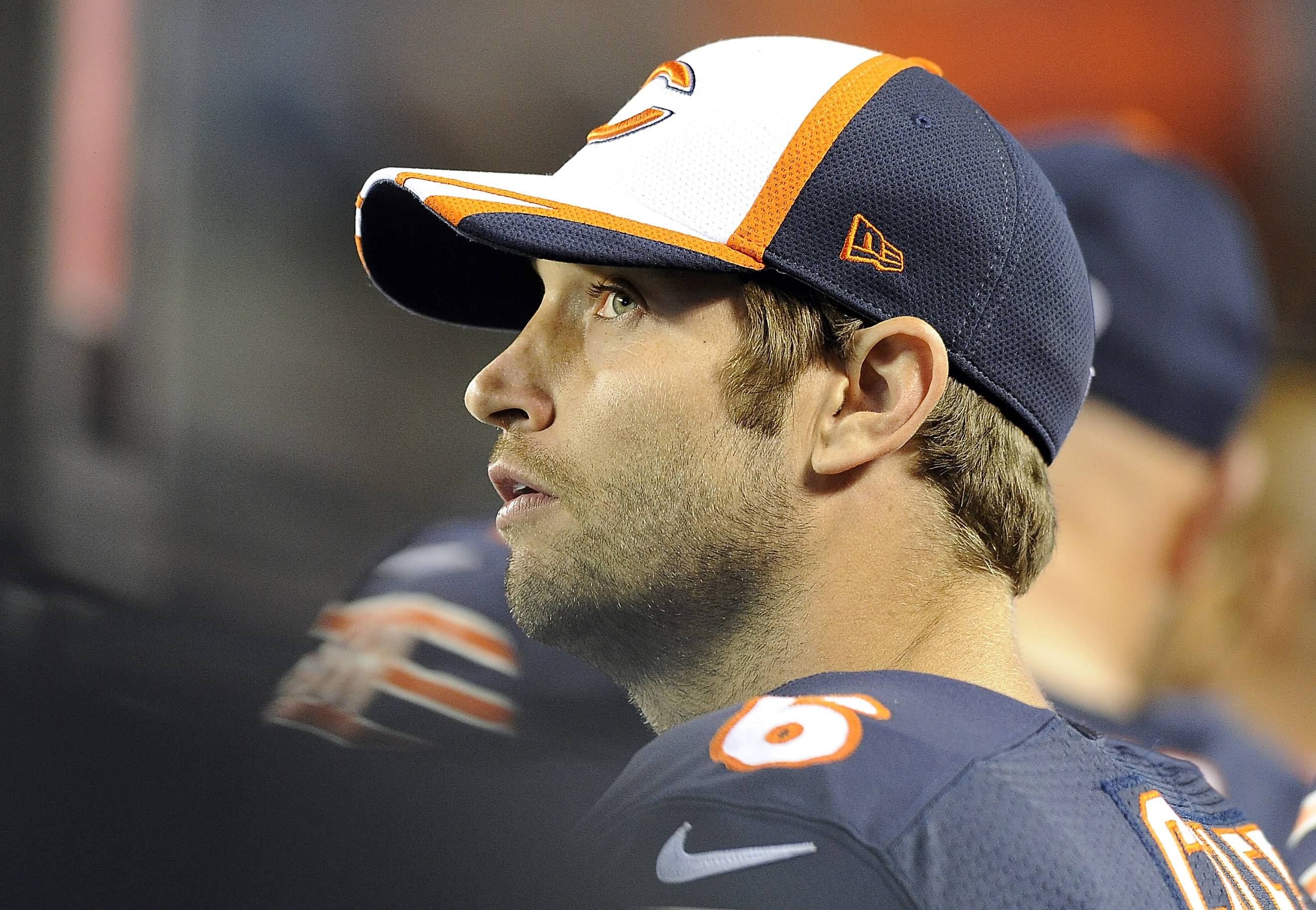 Quarterback Jay Cutler has reached the age where he's looking forward to bring everything together with the Bears' high-powered offense.