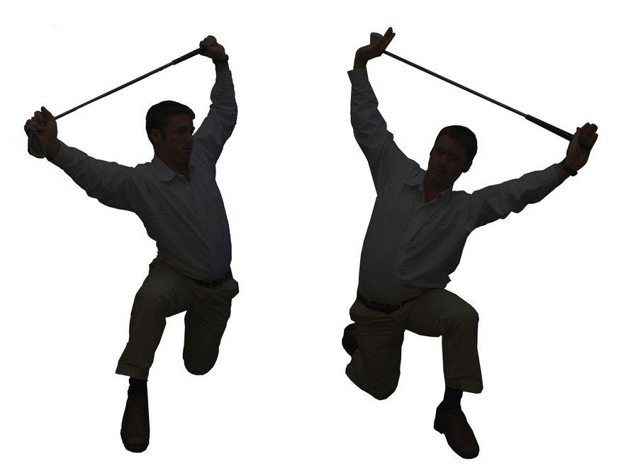 Loosening up a Tin Man's golf swing