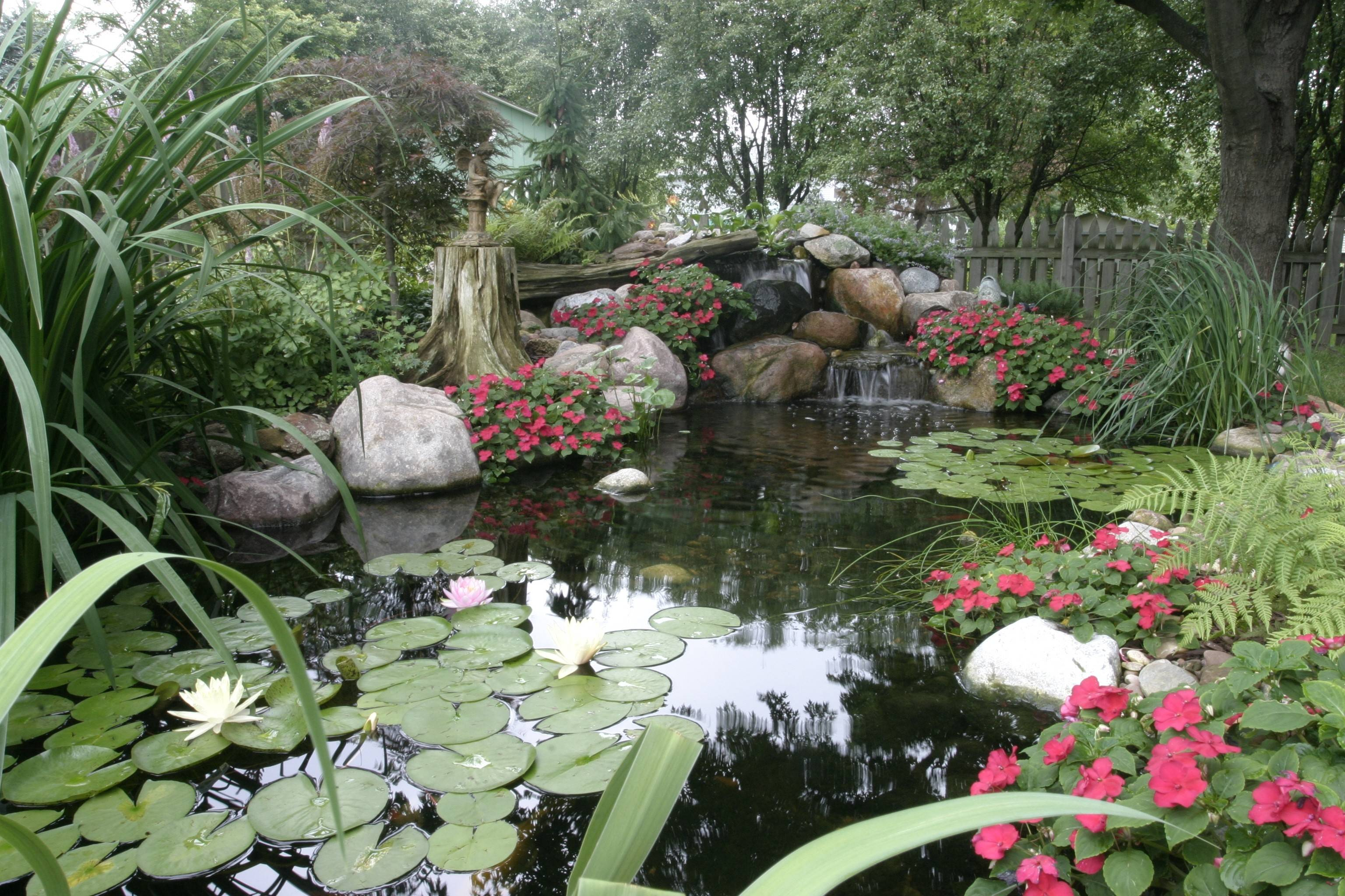 The Average Pond That Aquascape Inc. Of St. Charles Builds In The Chicago  Suburbs