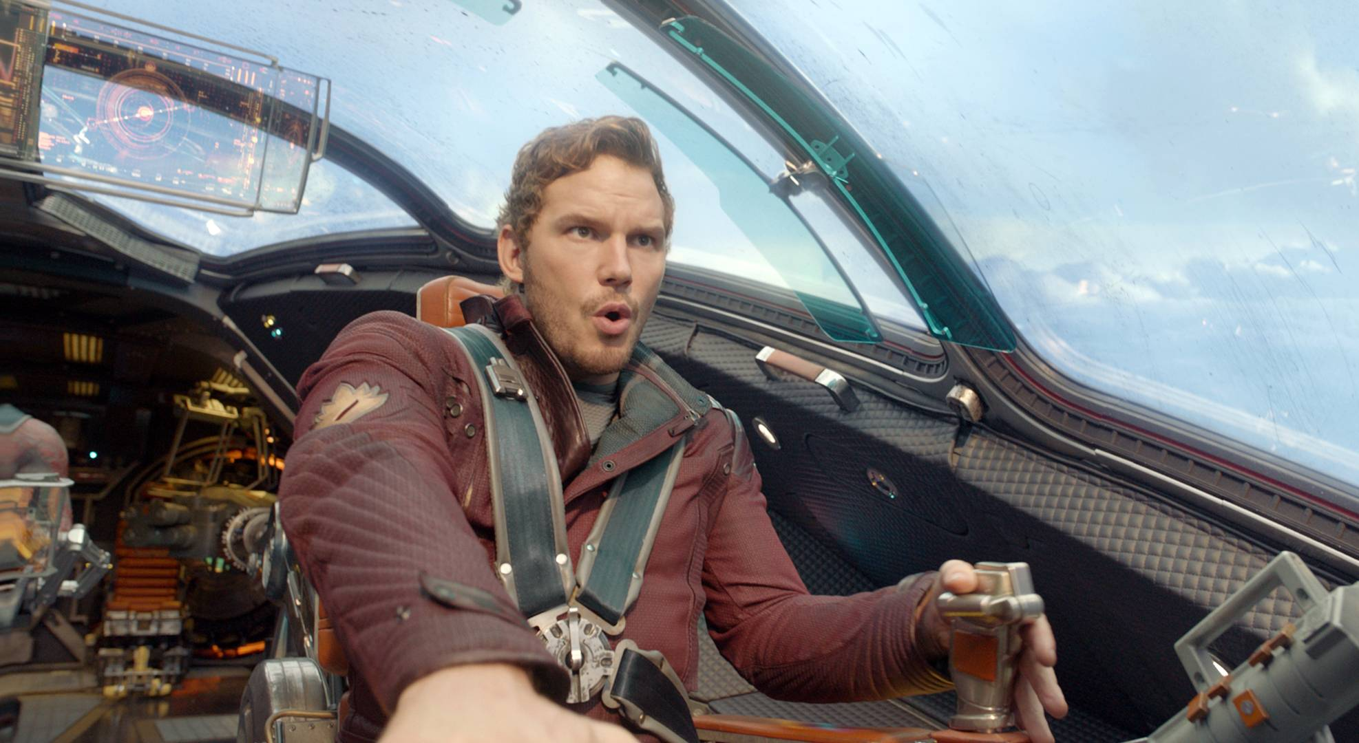 "Chris Pratt stars in ""Guardians Of The Galaxy,"" which topped the box office for the fourth week."