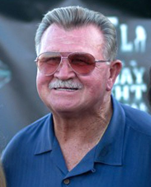 Bears legend Mike Ditka showed he could play on both sides of the ball Sunday in a TV spot for Republican Bruce Rauner -- almost exactly four years ago, it was Democratic Gov. Pat Quinn who released a Ditka video to try to bolster his hopes.