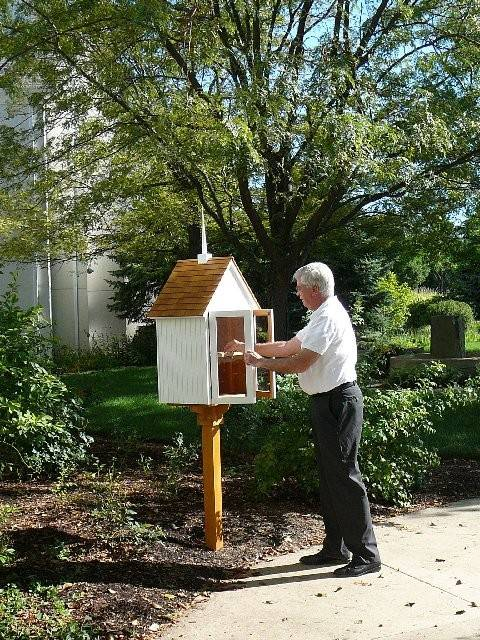 Little Free Libraries, like this one in St. Charles, could soon be allowed in Mundelein.