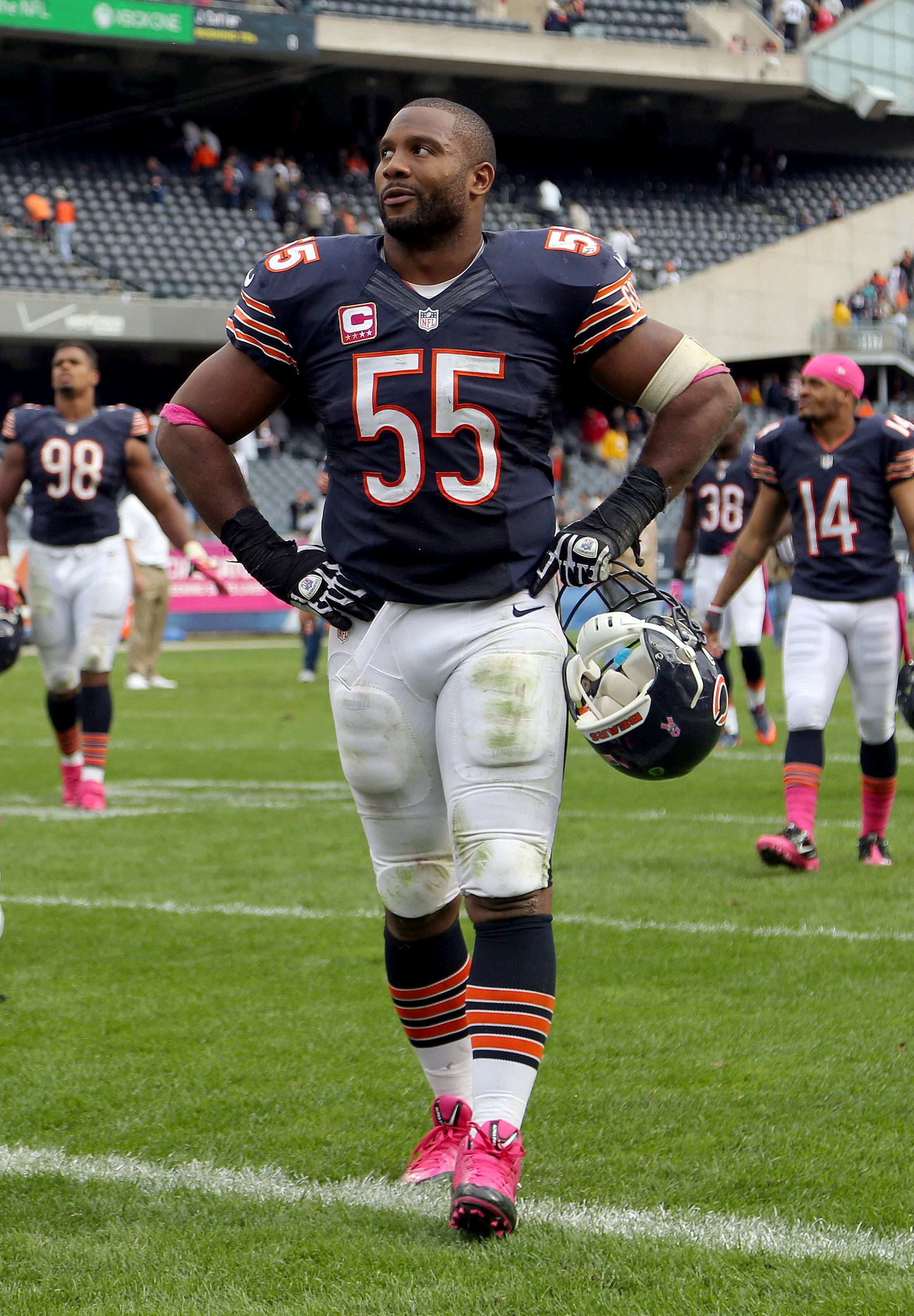 Bears' Briggs addresses off-the-field questions