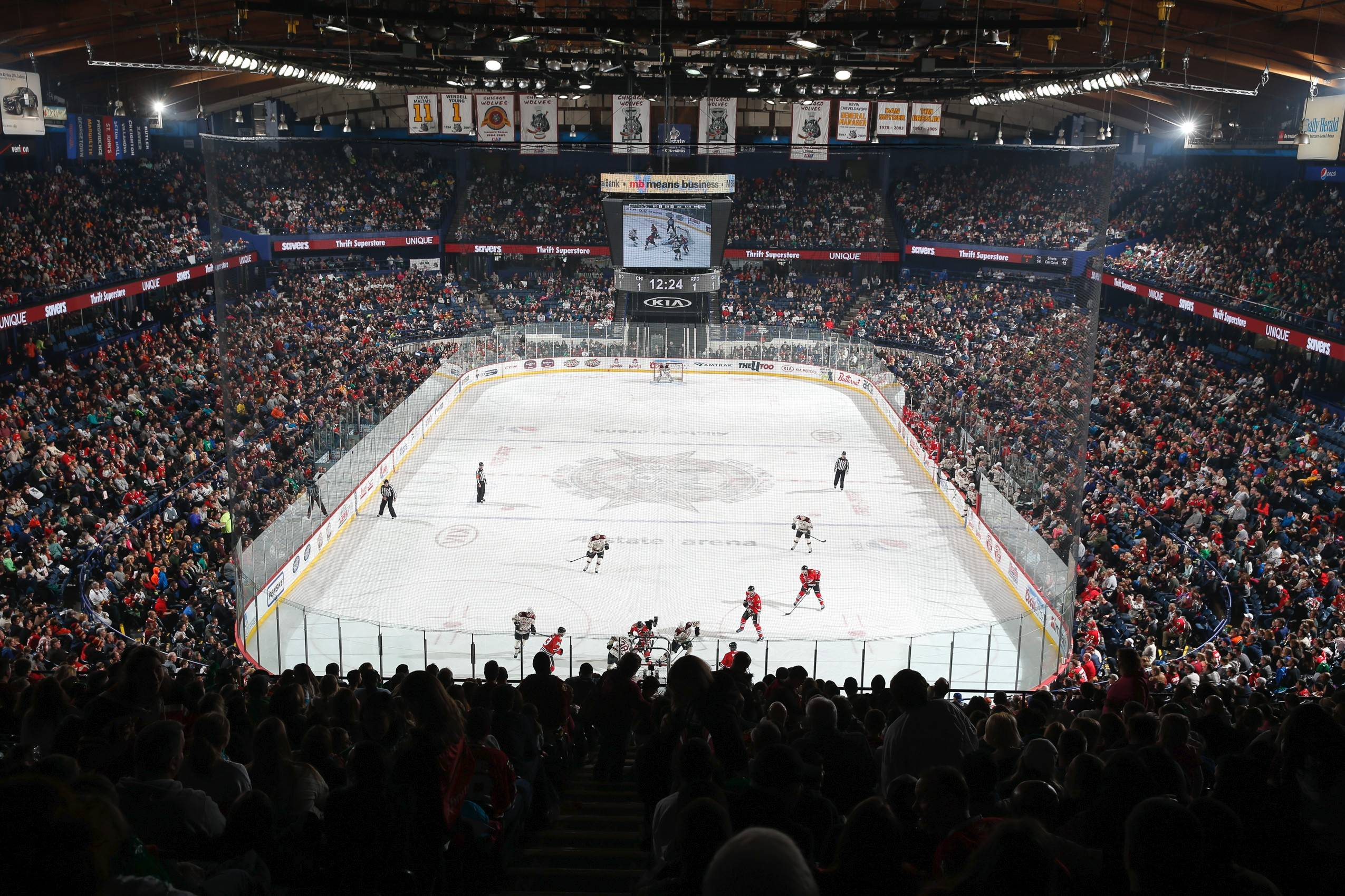 Chicago Wolves to extend Allstate Arena contract for five more years