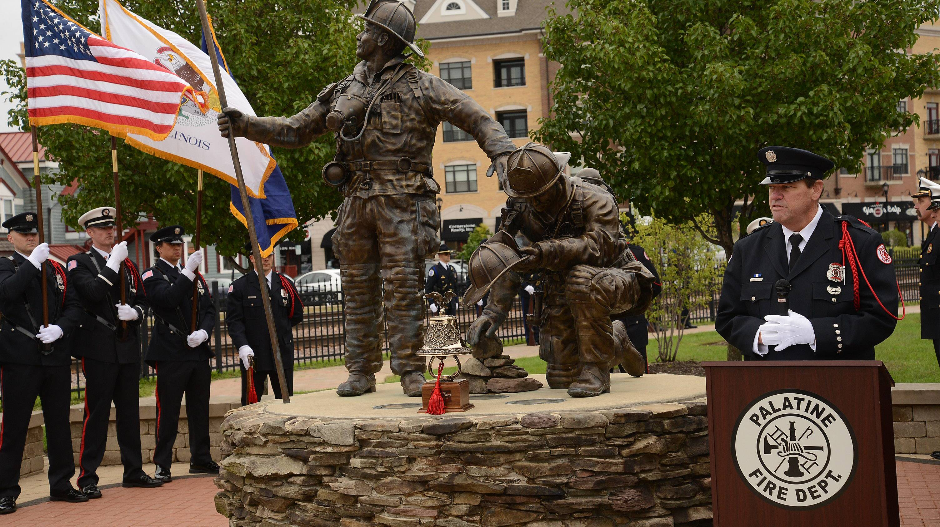 Northwest suburban ceremonies recall loss of 9/11
