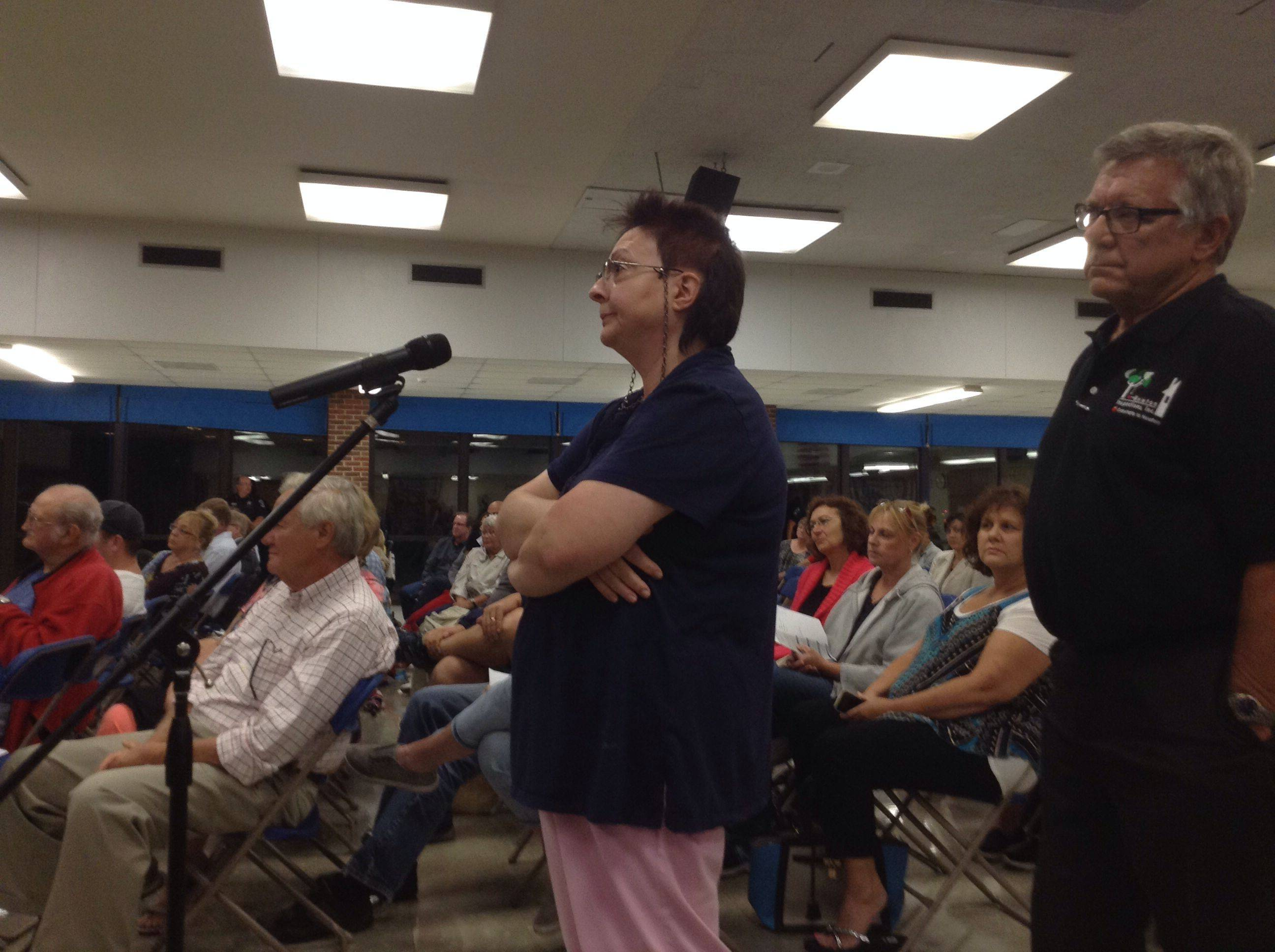 Overcharged taxpayers speak out at Bartlett meeting