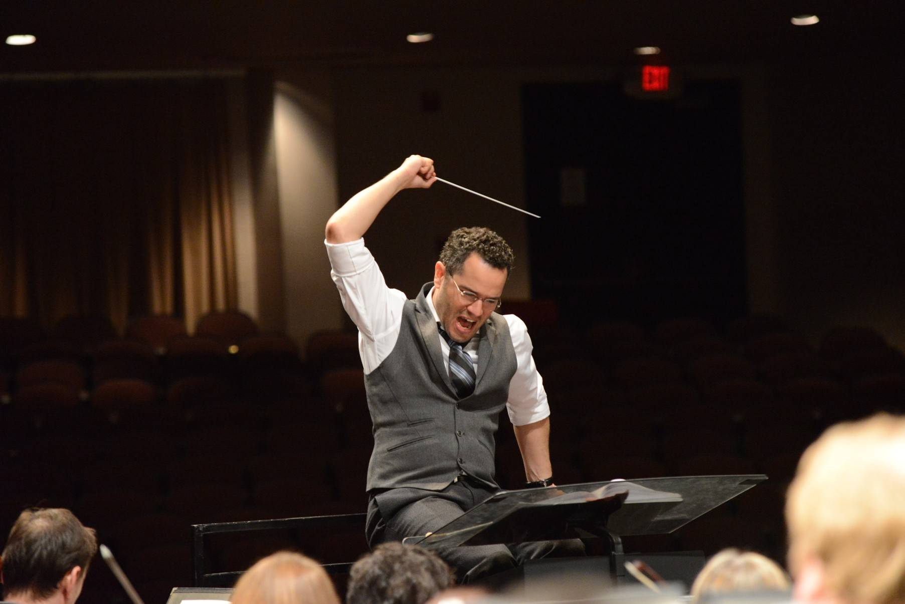 Maestro Andrew Grams conducts the Elgin Symphony Orchestra in its opening season concerts featuring works by Beethoven, Wagner and Weber at the Hemmens Cultural Center in Elgin on Saturday and Sunday, Sept. 13 and 14.