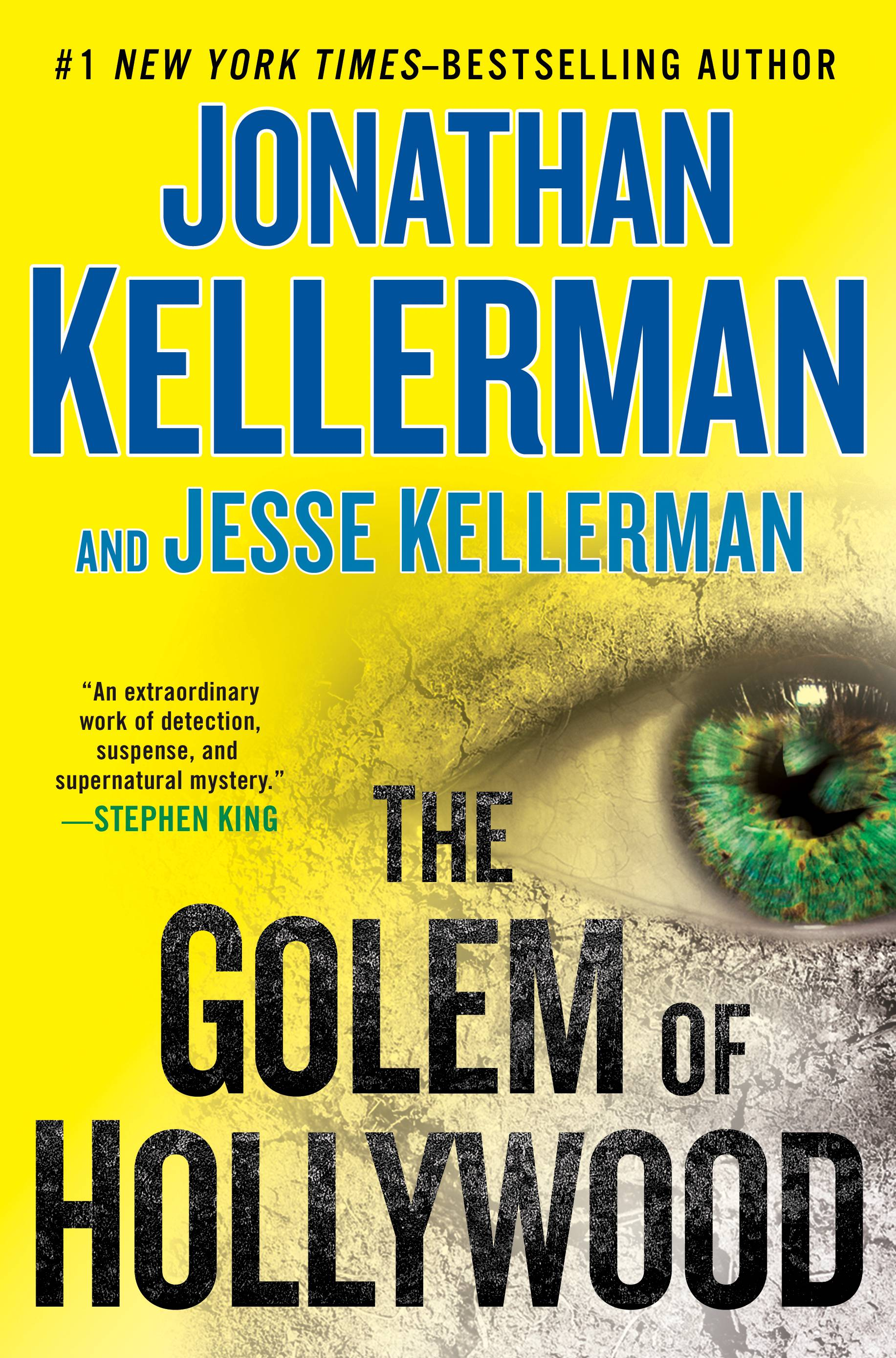"""The Golem of Hollywood"" is the first joint venture from father-and-son authors Jonathan Kellerman and Jesse Kellerman."