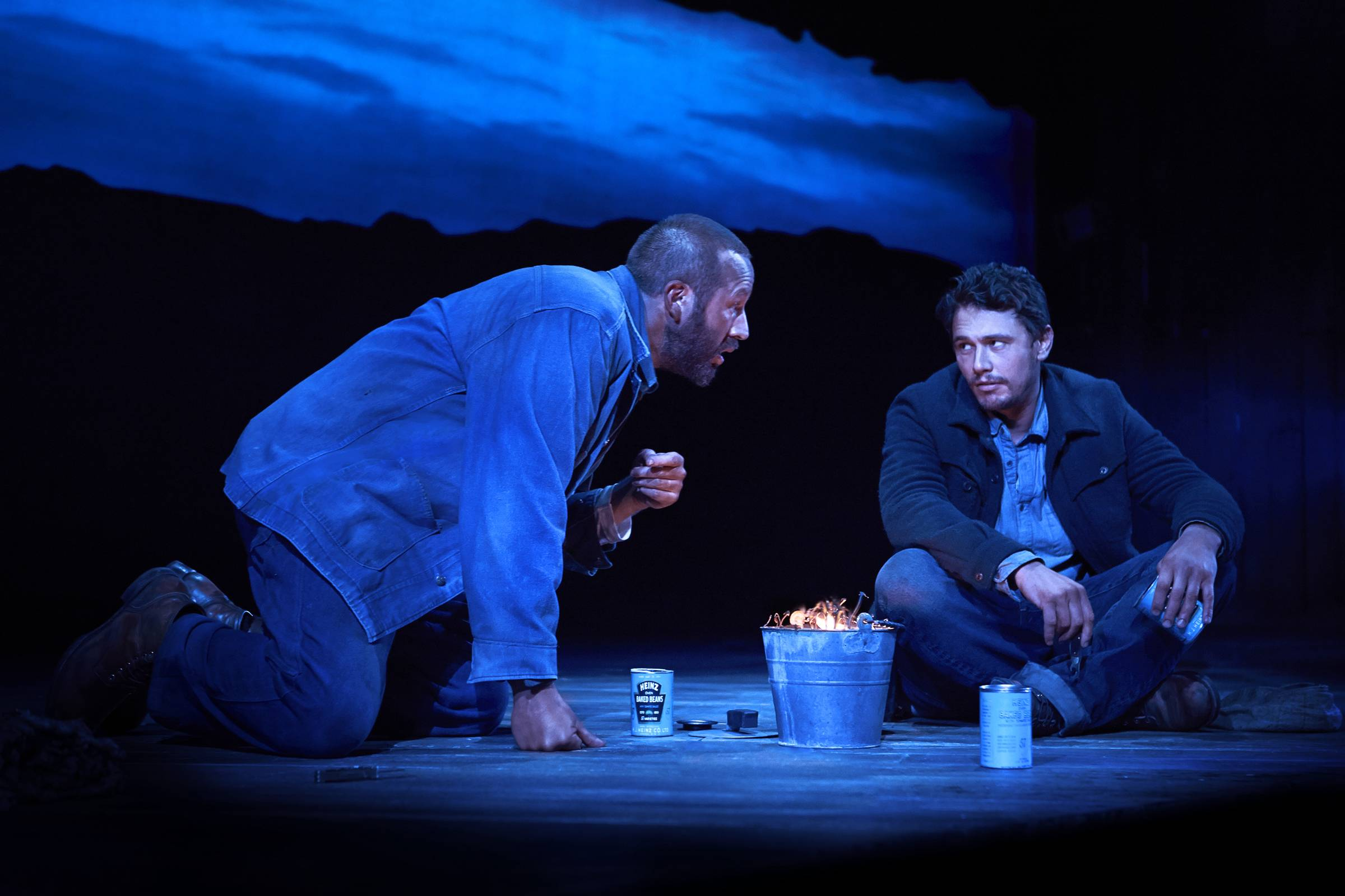 "The recent revival of ""Of Mice and Men"" starring James Franco, right, and Chris O'Dowd may have closed on Broadway, but you can still catch it. The play will be screened in more than 700 movie theaters across the U.S., including many in the suburbs, on Thursday, Nov. 6."