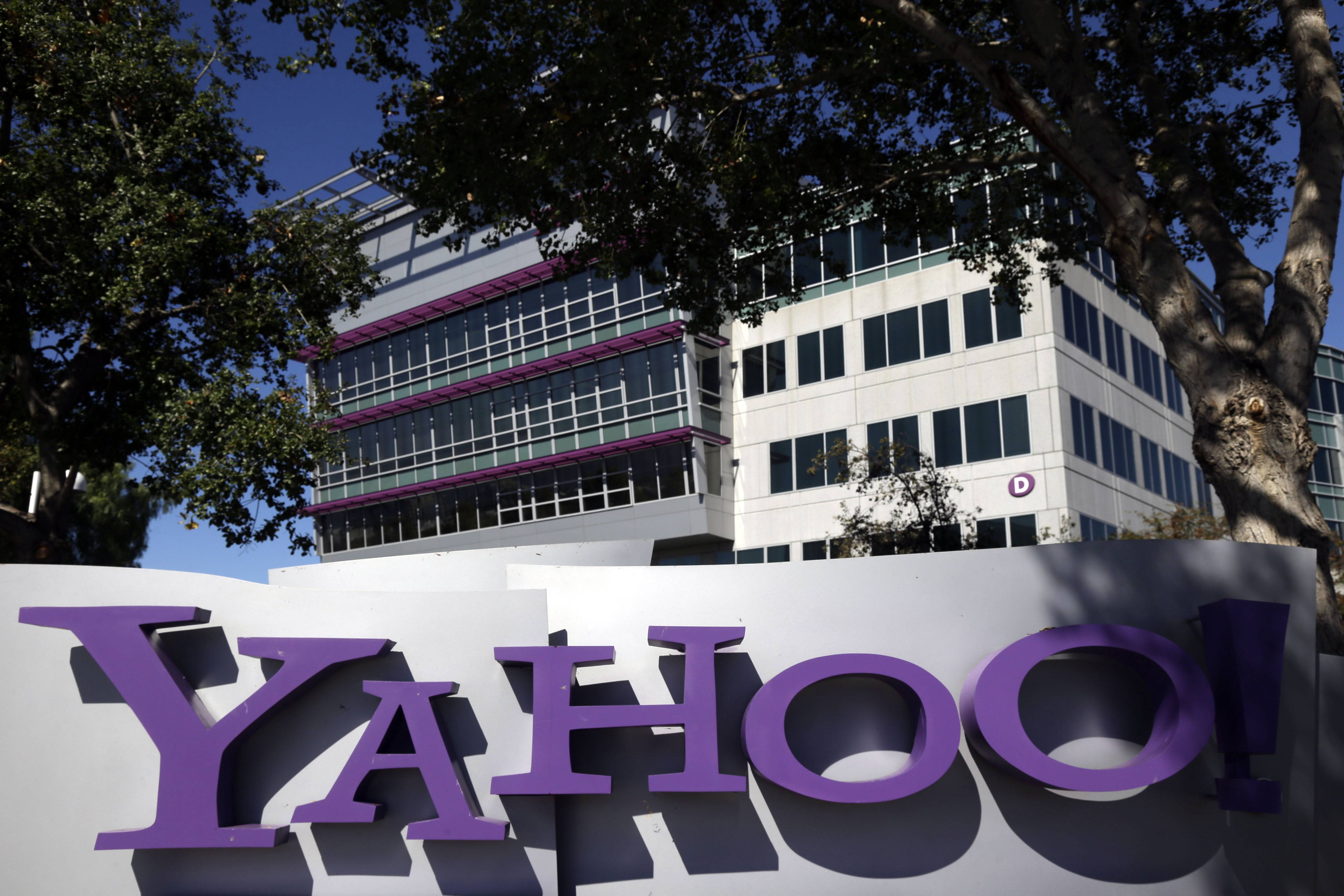 Yahoo! Inc. may rise 65 percent by the end of the year after Chinese e-commerce giant Alibaba Group Holding Ltd. goes public later this week, according to bets by structured-products buyers.