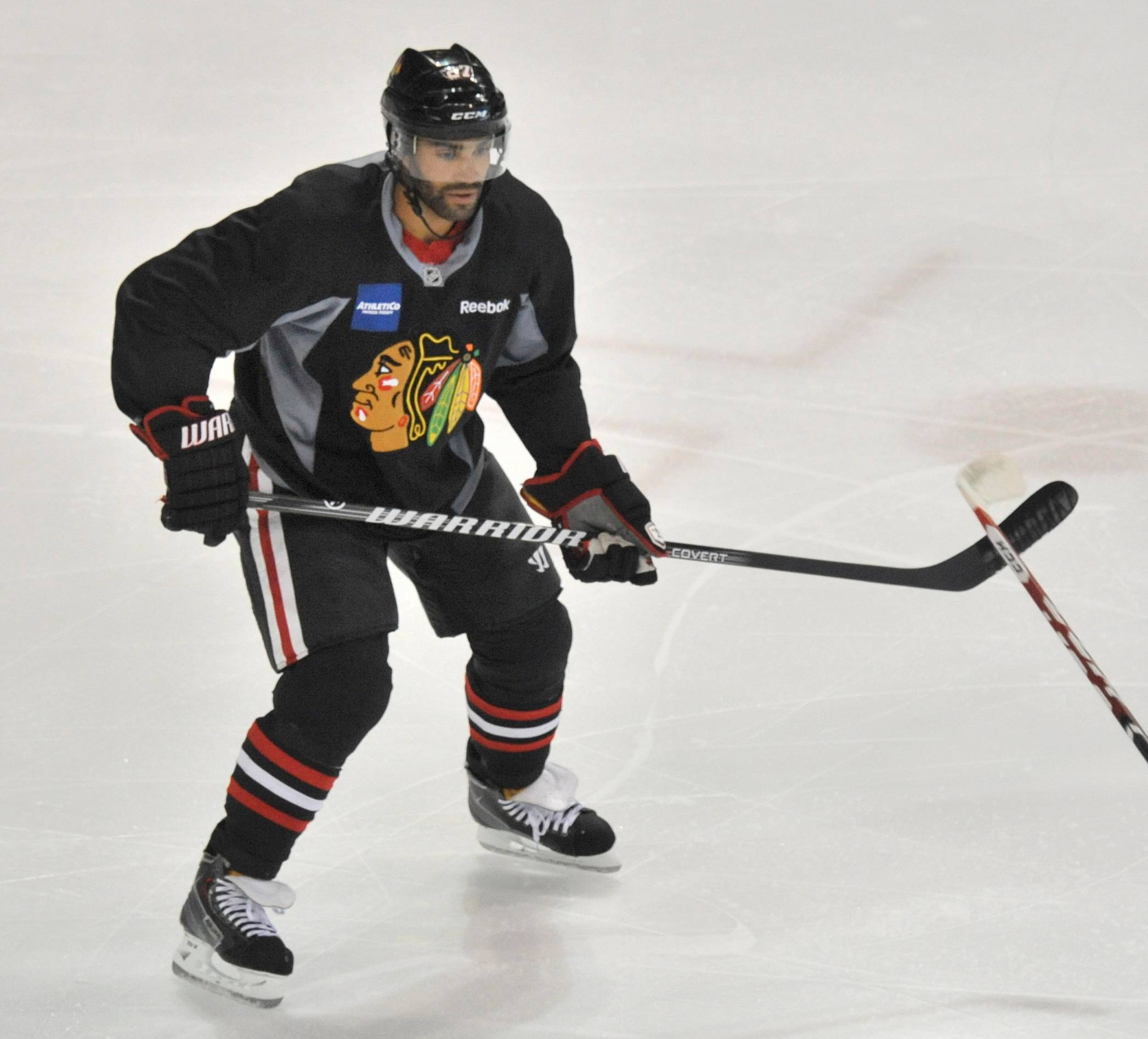 "With the Hawks over the salary cap, defenseman Johnny Oduya knows he may be traded. ""I try not to worry about it too much,"" he said Friday."