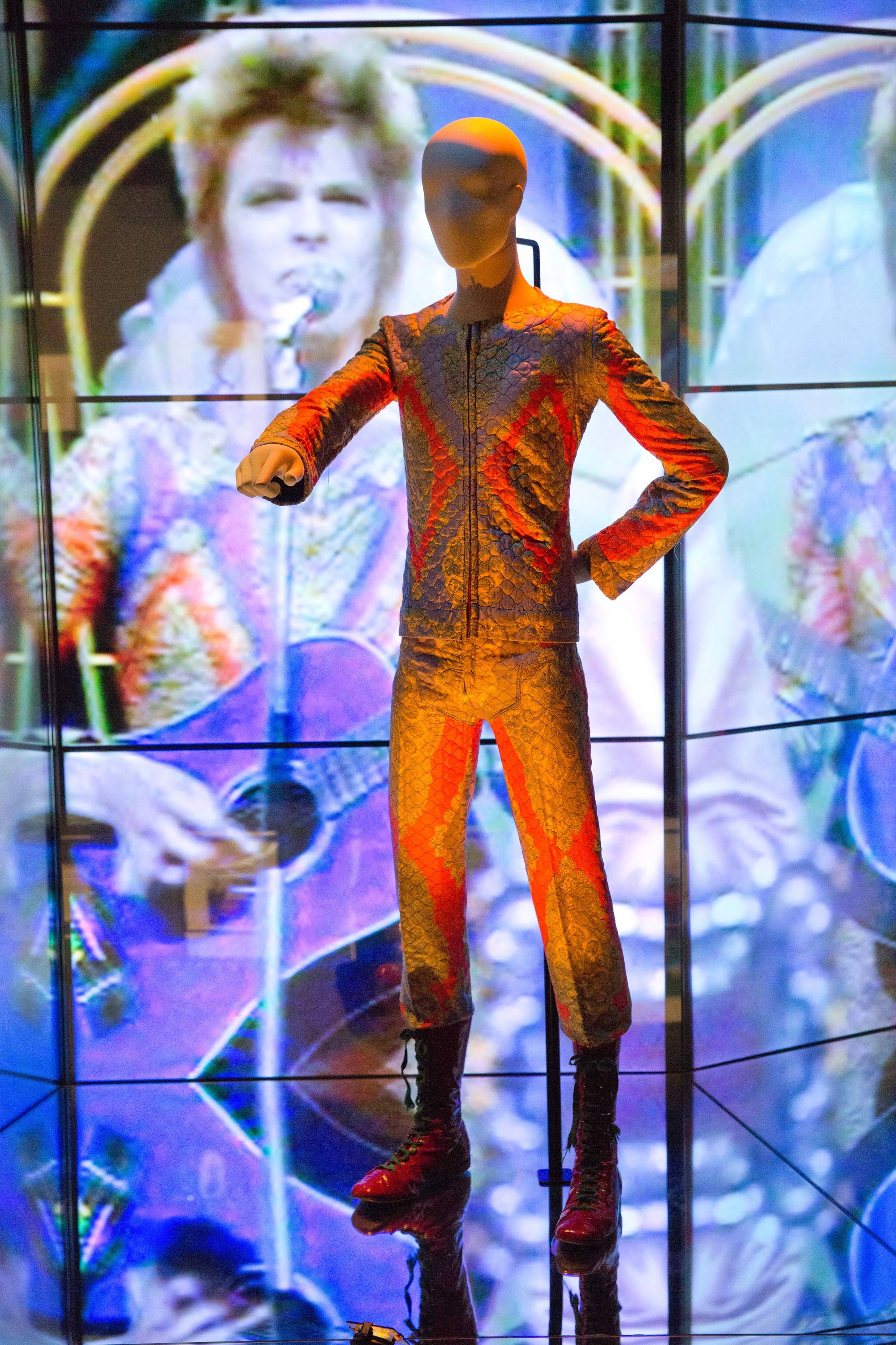 "The ""David Bowie Is"" exhibit will be featured more chronologically in Chicago than in past spots, such as the Victoria and Albert Museum in London."