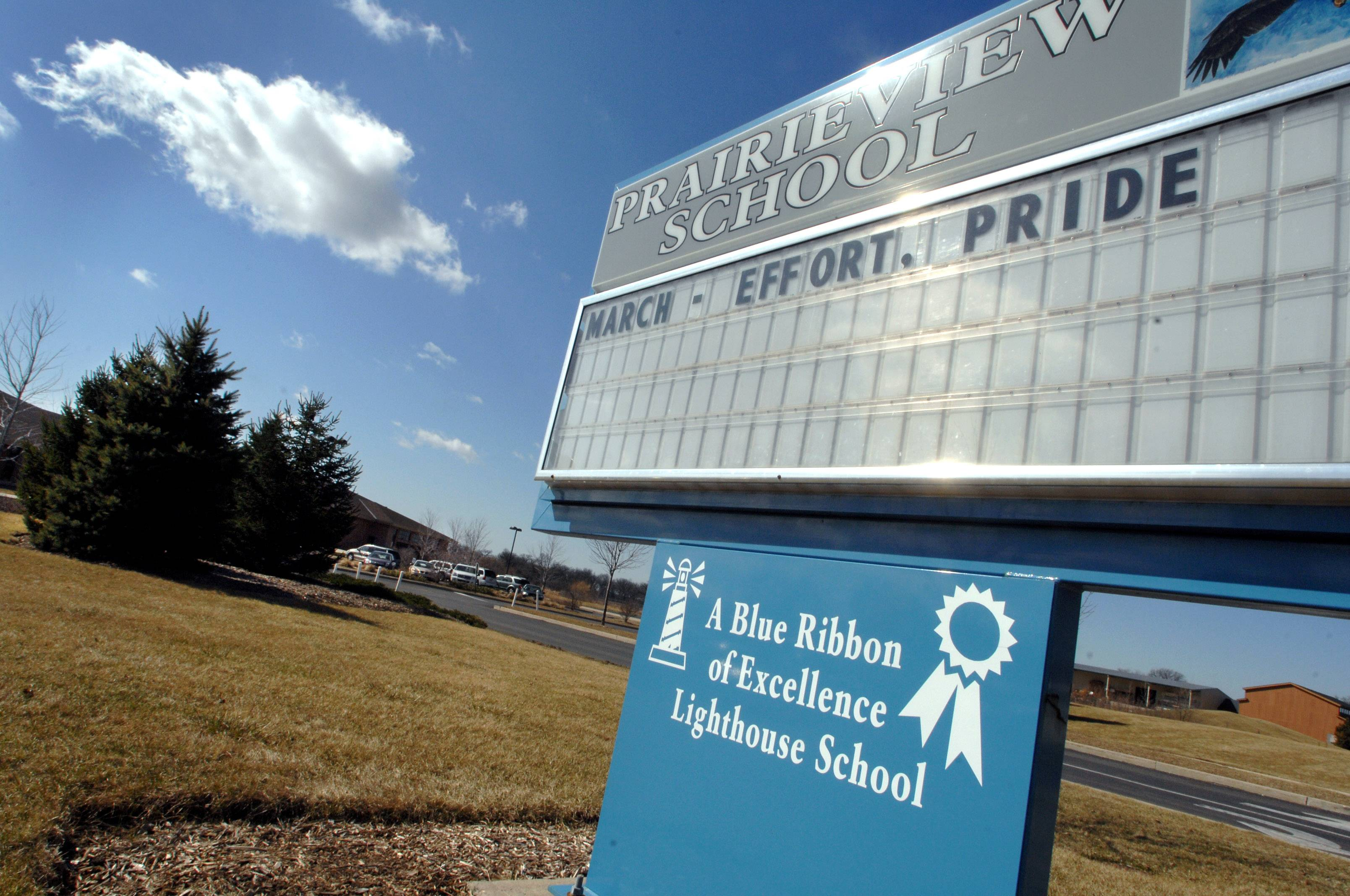 Prairieview School in Hainesville is one of the Grayslake Elementary District 46 schools. Some parents say they want the district to start all-day kindergarten.