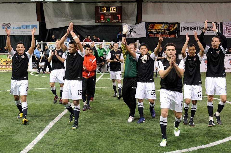 The Chicago Mustangs soccer team wants to move home games from the Grand Sports facility in Hoffman Estates to the much larger Sears Centre Arena for the 2014-15 season. The village board will vote on a proposed agreement Oct. 6.