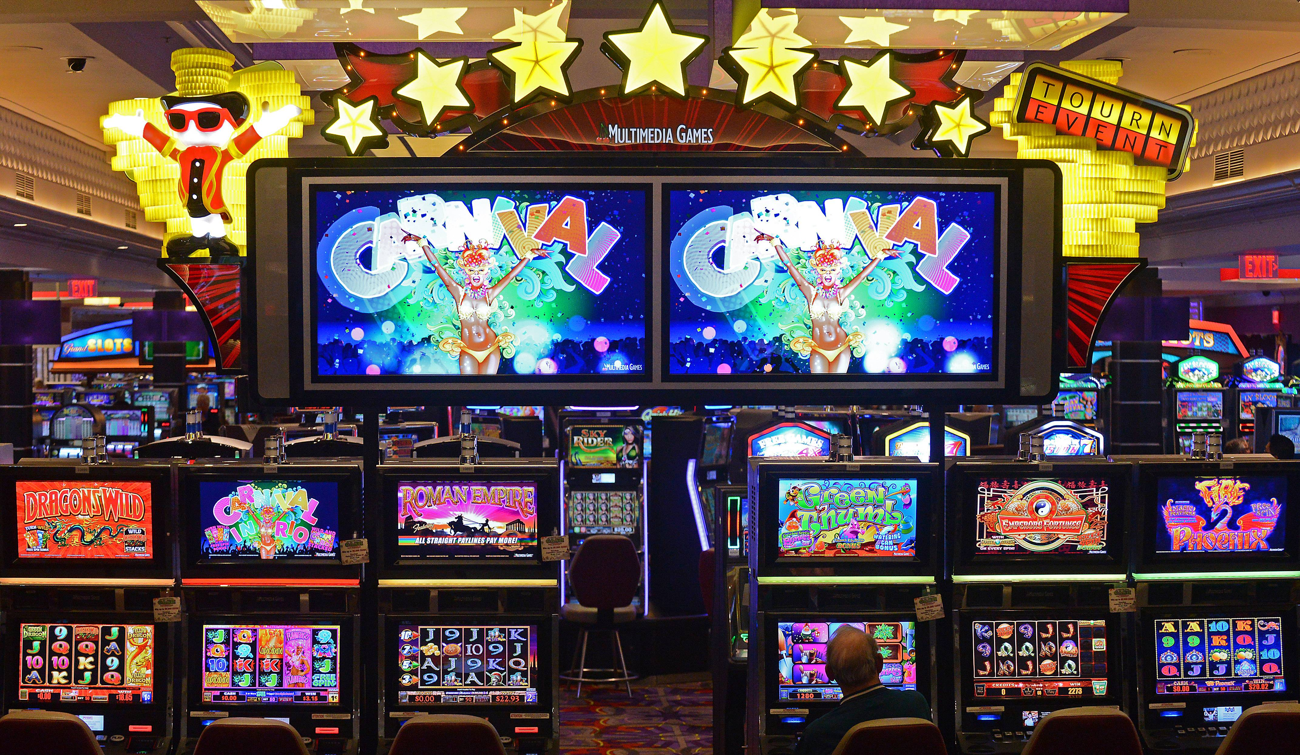 The Grand Victoria Casino in Elgin is celebrating its 20th anniversary next month. Casino officials said a recent renovation of the casino floor aimed for a brighter, more modern and spacious feel.