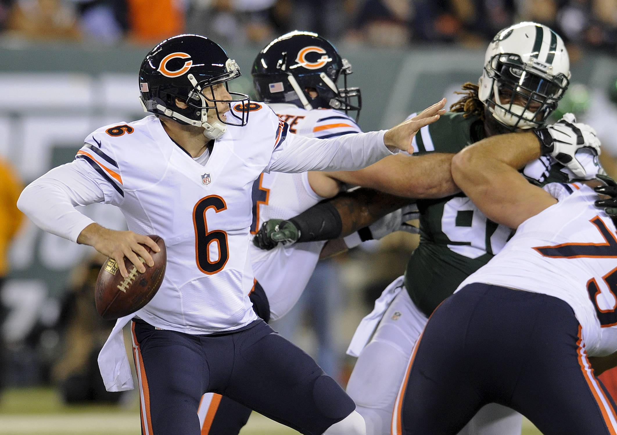 Fresh off a pair of victories, the next challenge for quarterback Jay Cutler and the Bears will be the Green Bay Packers on Sunday at Soldier Field.