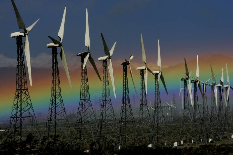 Wind Energy Proposal Would Light Los Angeles Homes
