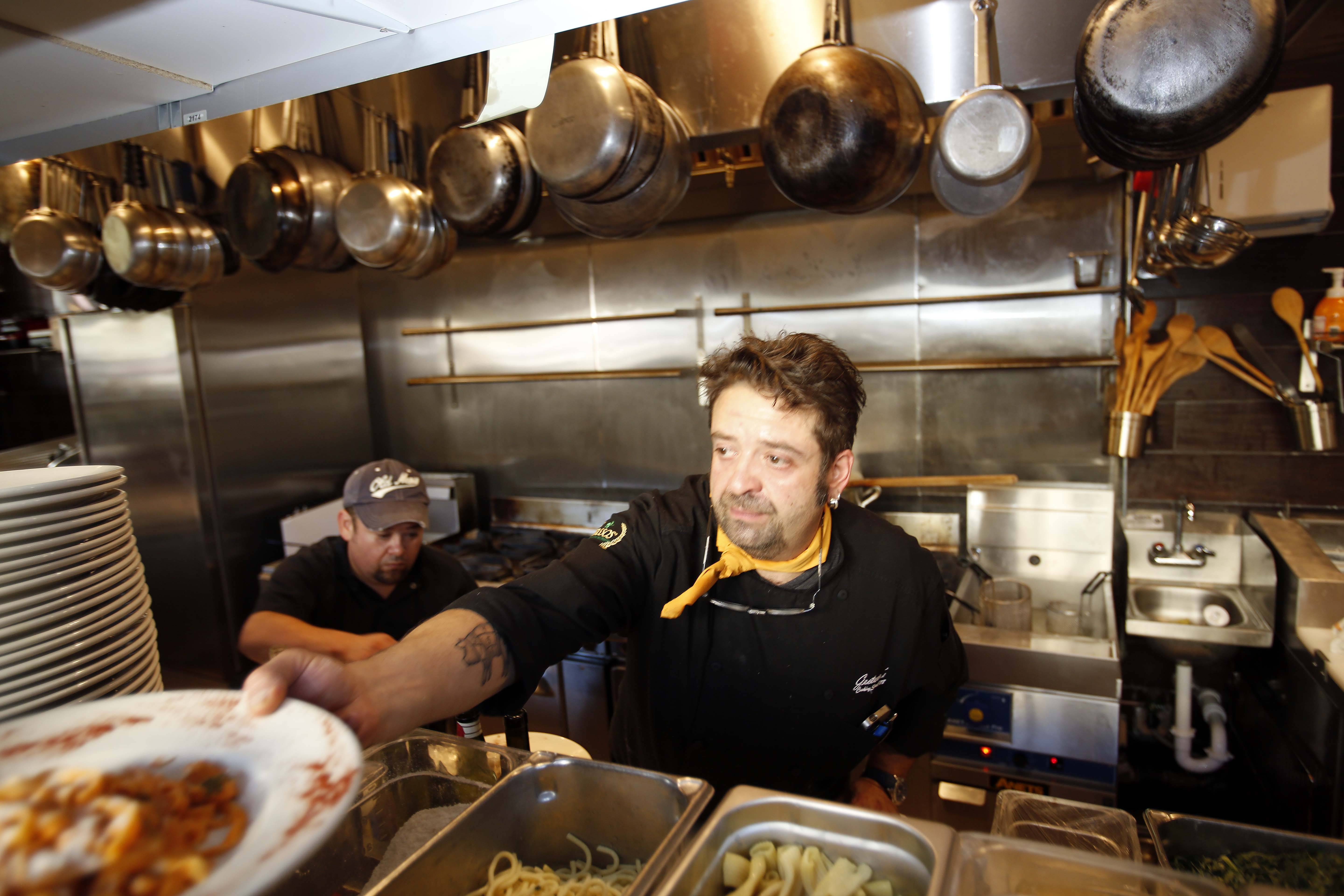 Chef Gaetano Di Benedetto opened his eponymous eatery in downtown Batavia this past summer.