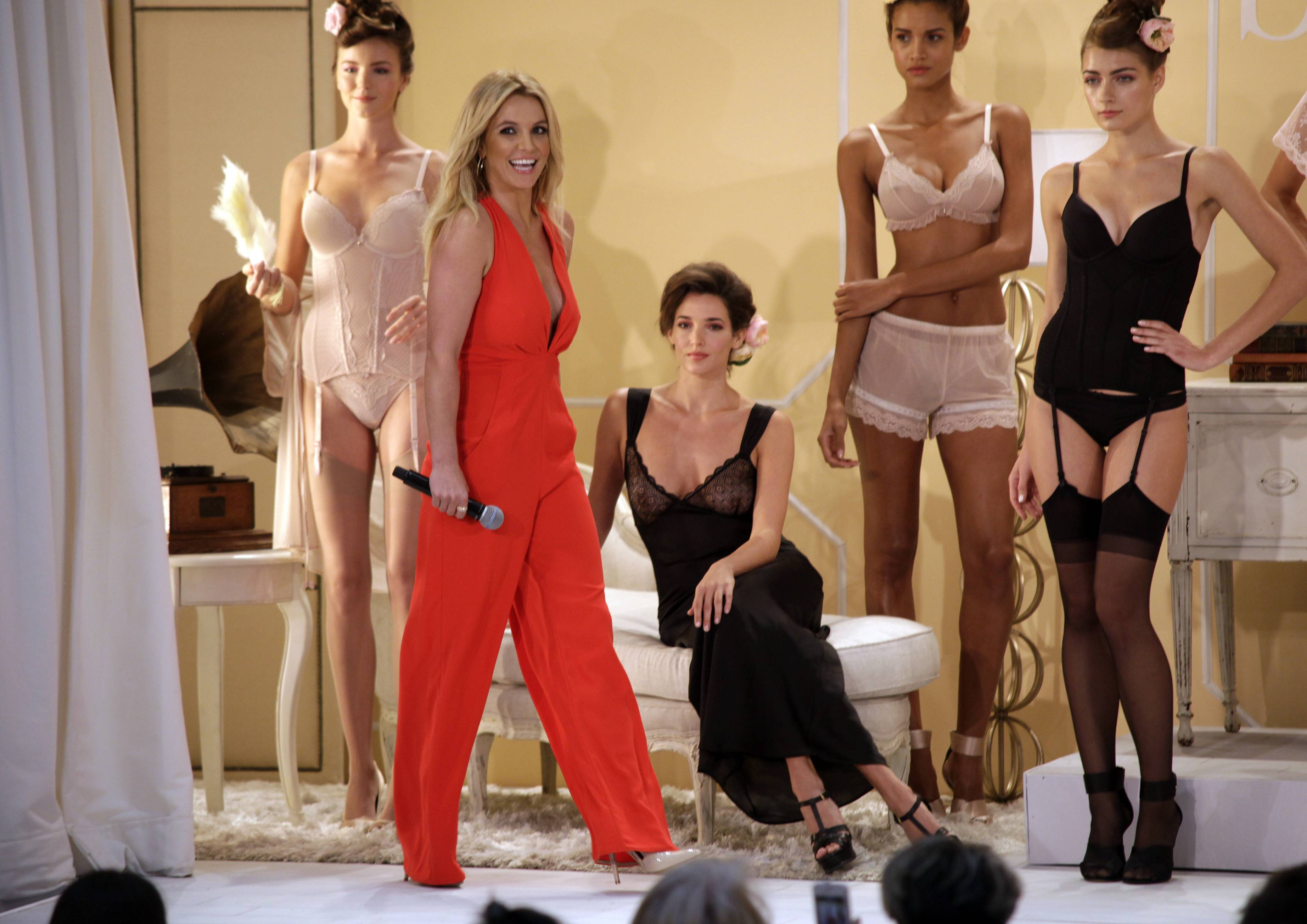 "Britney Spears is branching out. After 16 years in the music business and nearly 100 million record sales under her belt, the 32-year-old singer has added ""designer"" to her busy resume. The pop star launched her debut collection of lingerie and sleepwear, called ""The Intimate Britney Spears,"" in London on Tuesday."