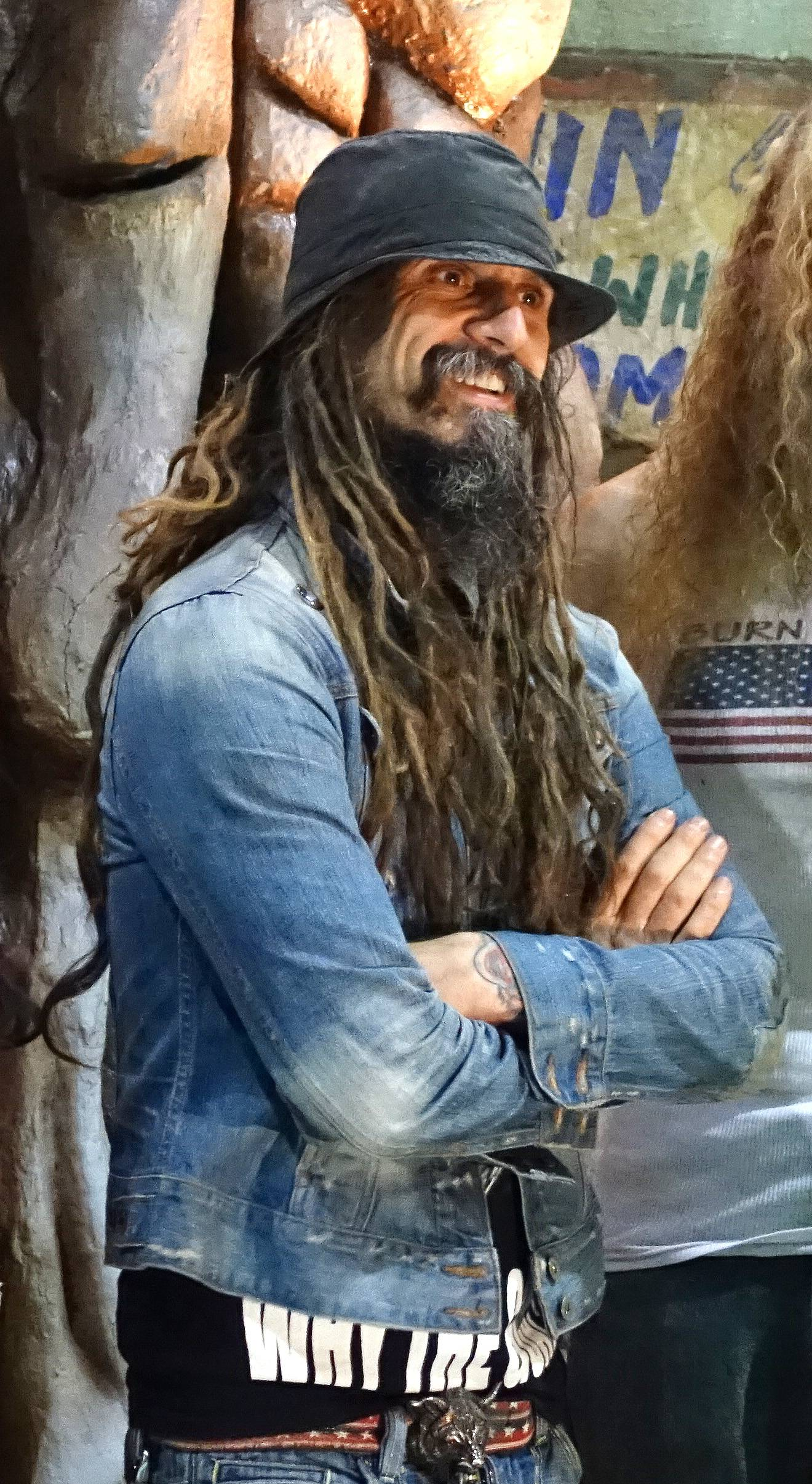 "Musician and filmmaker Rob Zombie stopped in Villa Park on Thursday to discuss ""Great American Nightmare,"" a haunted house he helped develop. The haunted house opens Friday at the Odeum Expo Center, and Zombie will perform that night."