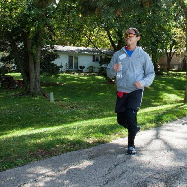 Derrick Quijano of Hoffman Estates will run this year, as he did in 2013, at the annual Walk-Run-N-Roll for the Transverse Myelitis Association on Oct. 5, 2014 at McCollum Park in Downers Grove. Bruce L. Mondschain
